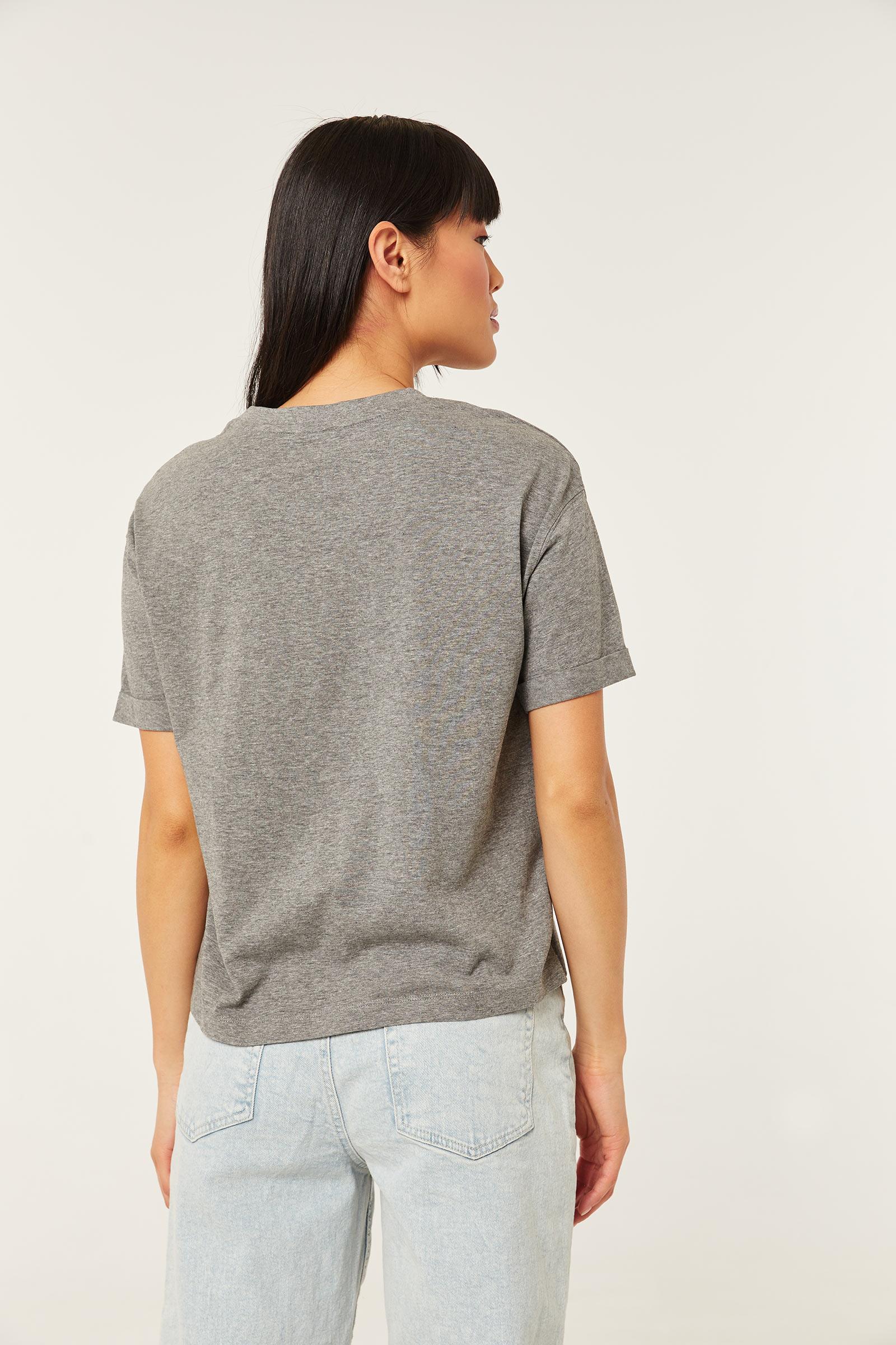 T-shirt soleil et lune en coton