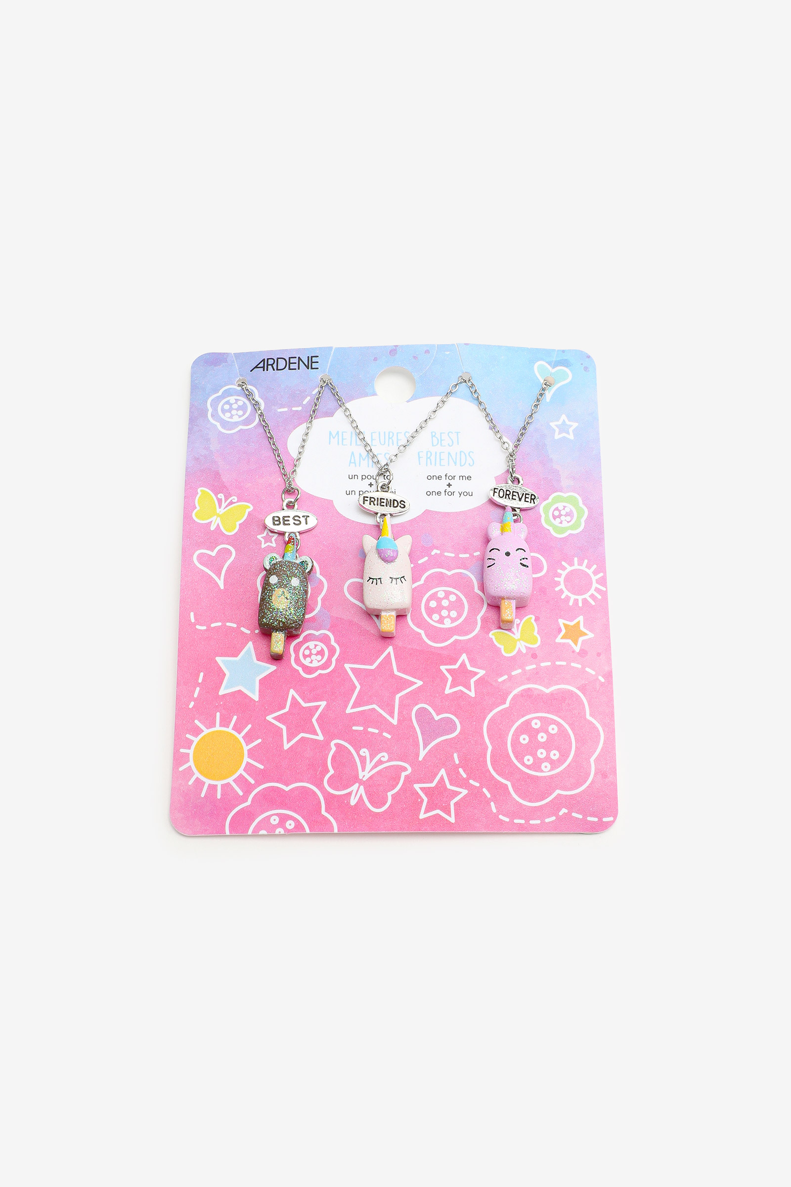 Colliers BFF animaux pour filles
