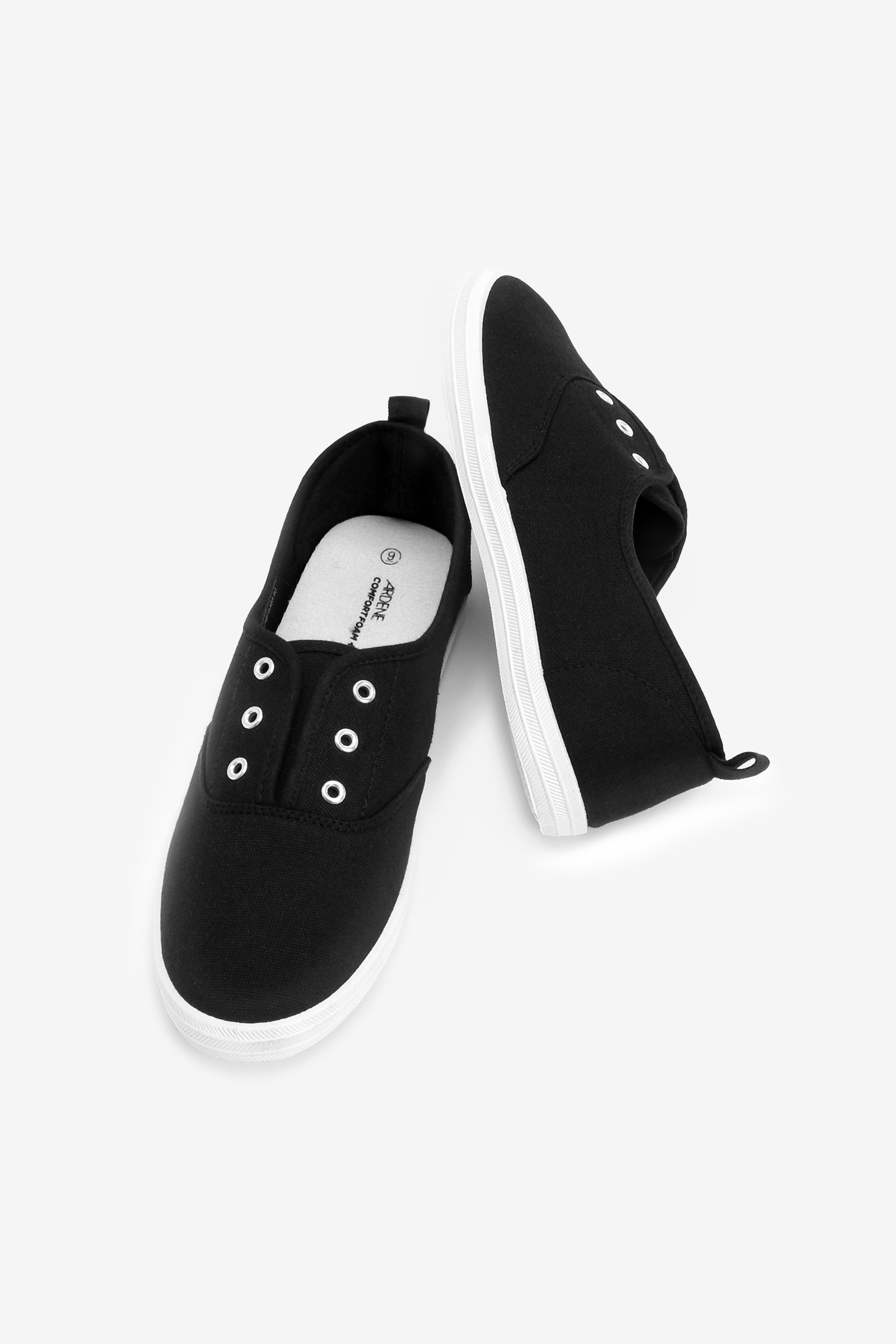 Basic Laceless Sneakers