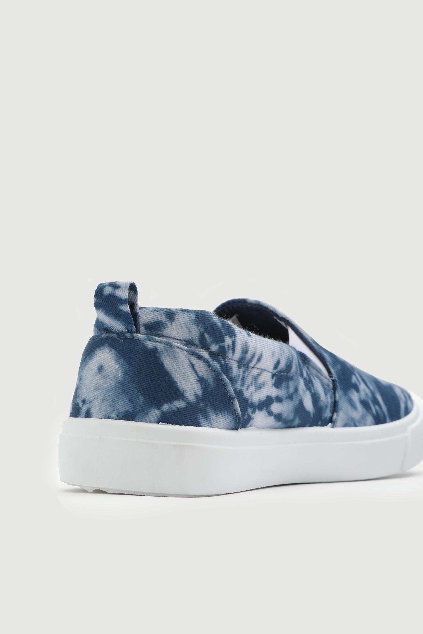 Tie-Dye Slip-On Sneakers