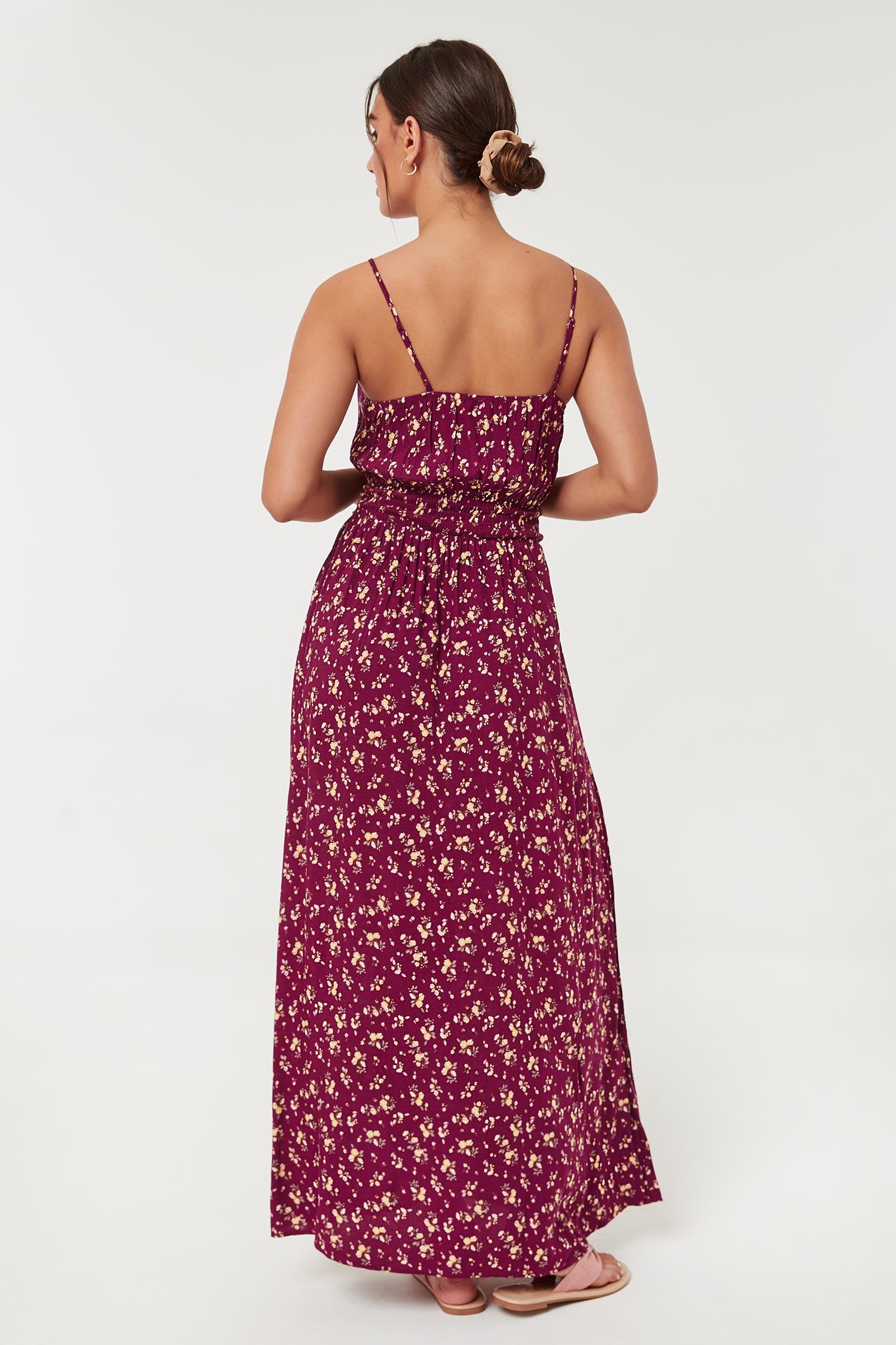 Robe fleurie maxi