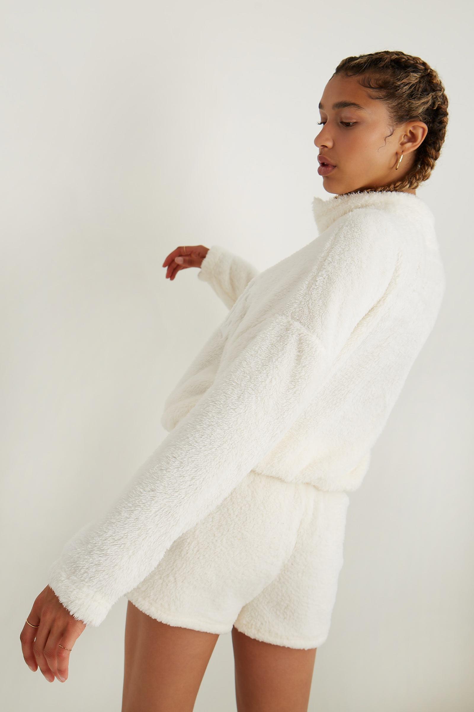 Gratitude Plush Lounge Sweater