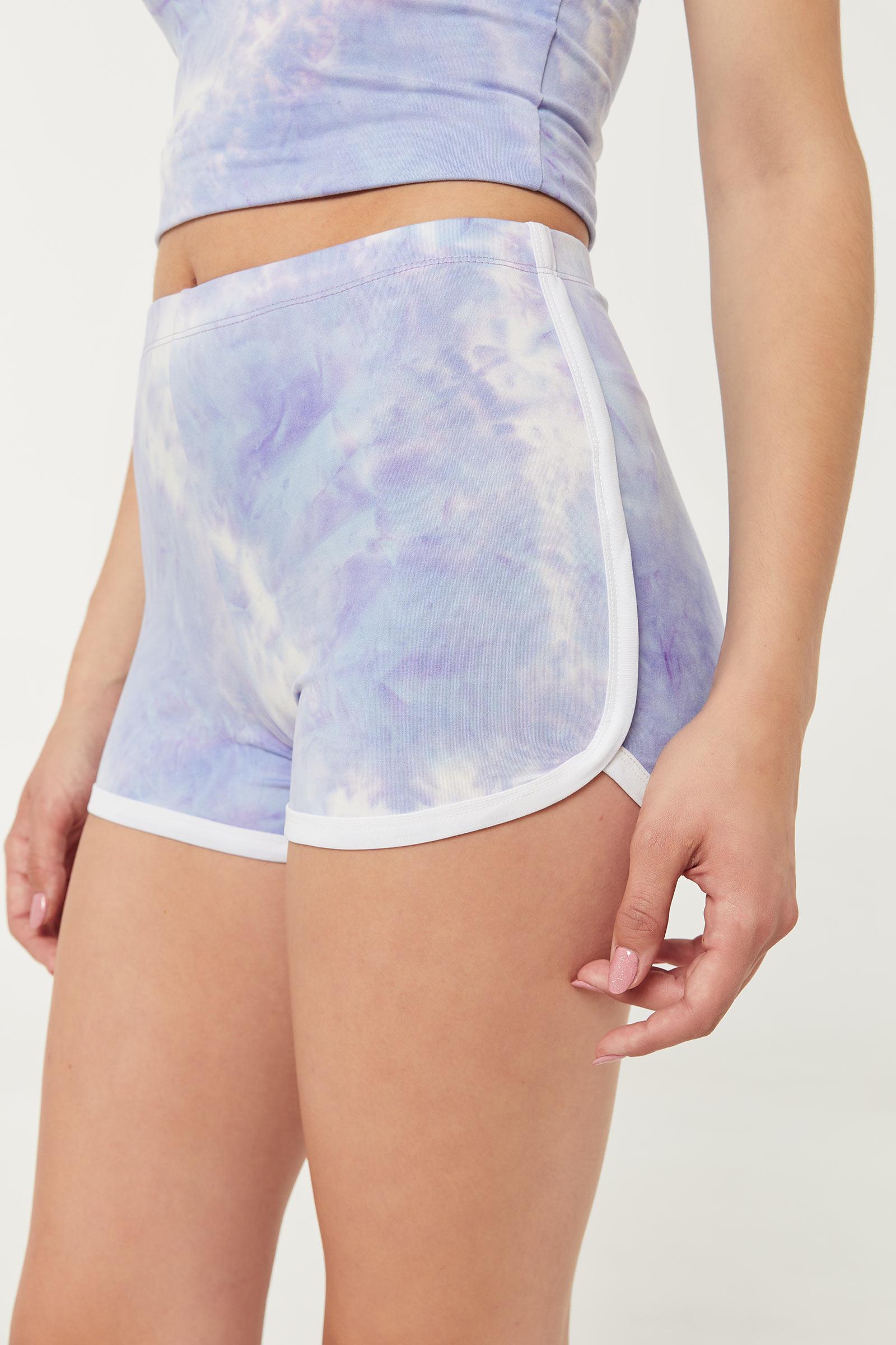 Ocean Tie-Dye Dolphin Shorts