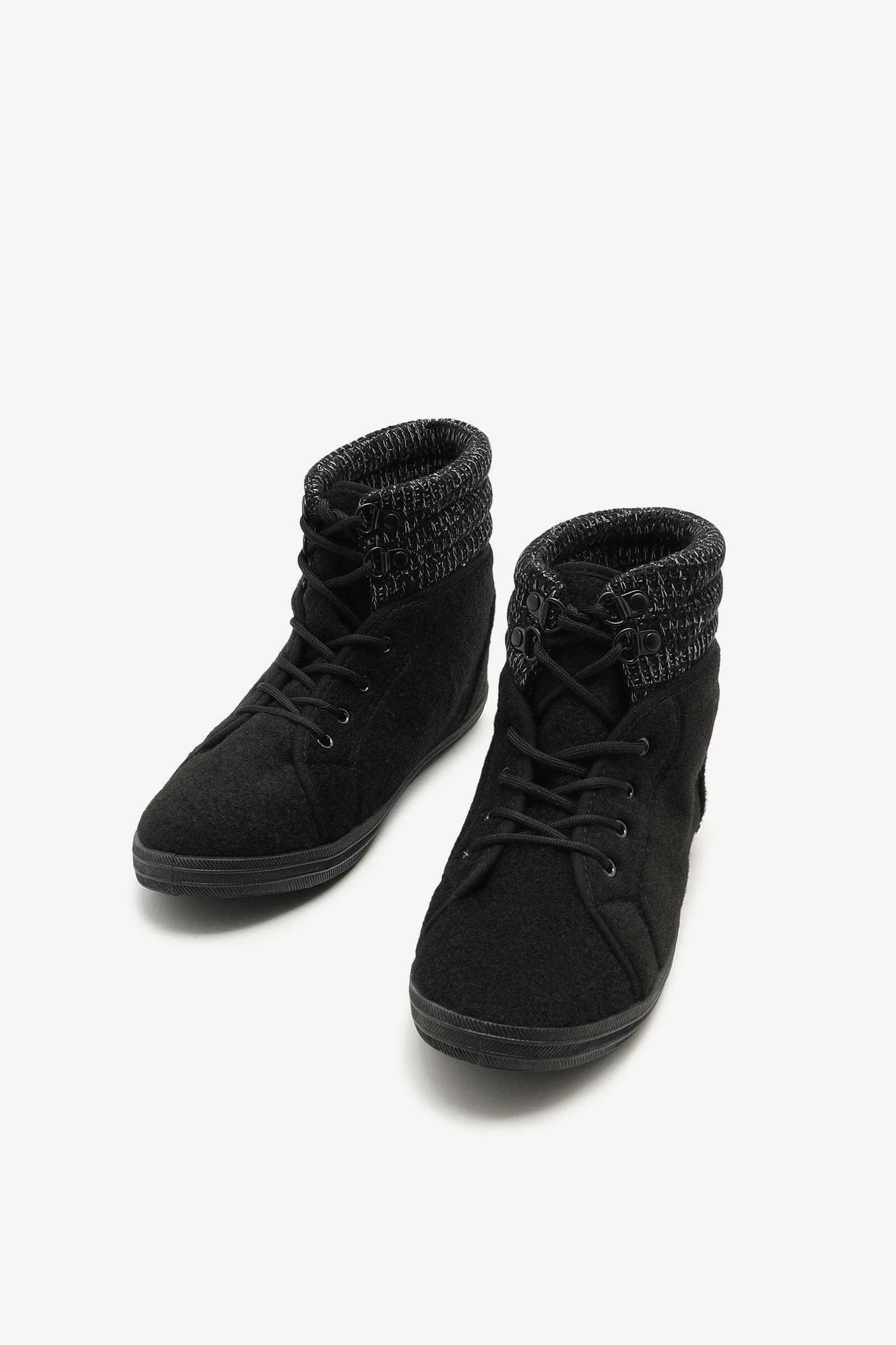 Knit Cuff Boots
