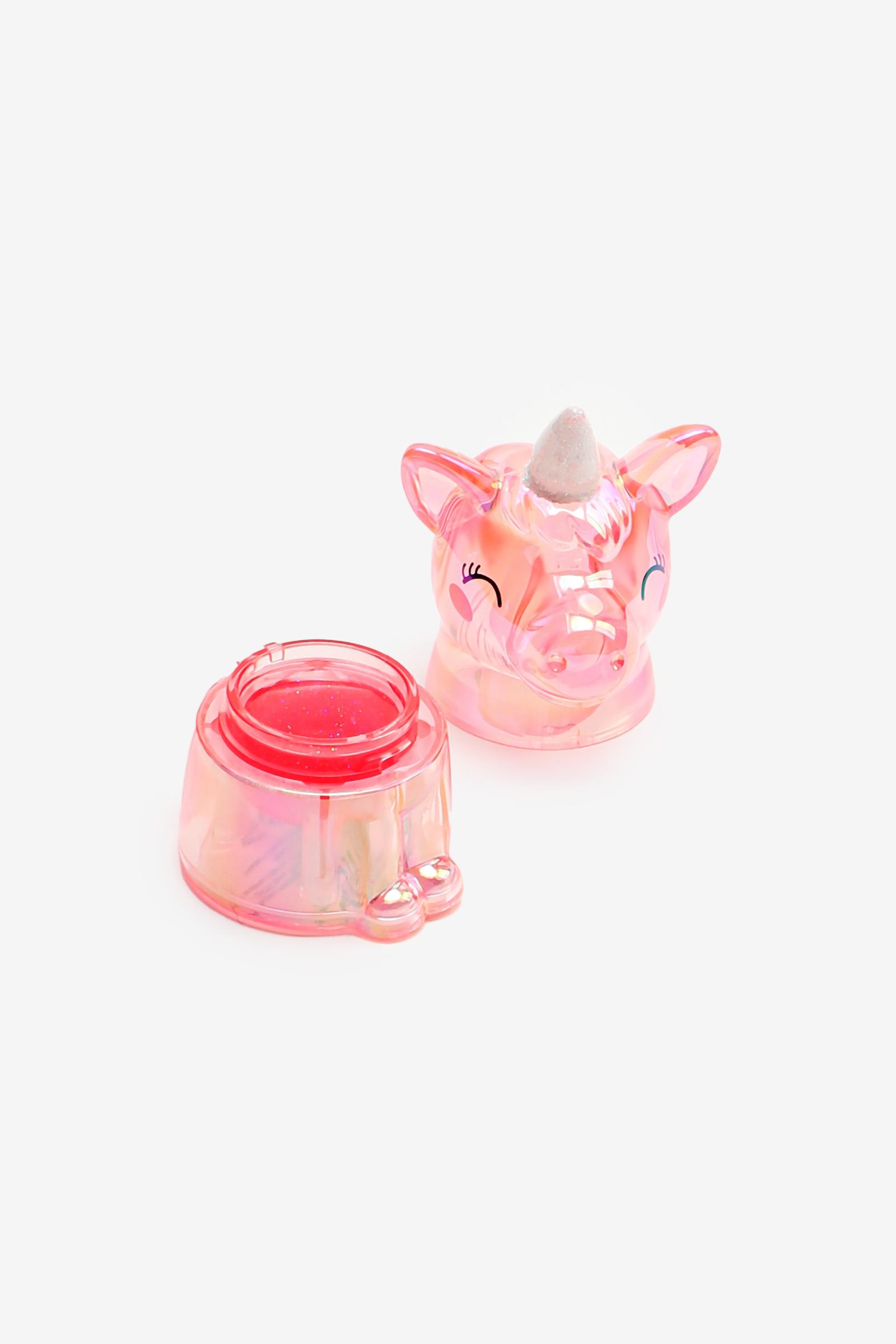 Baume à lèvres brillant en licorne