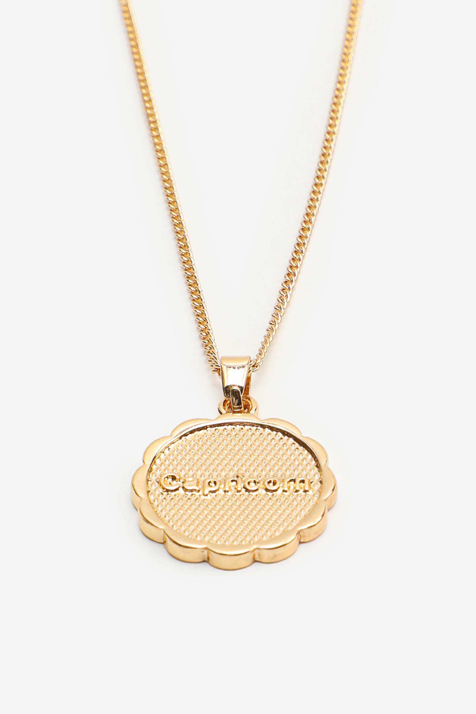 Zodiac Capricorn Pendant Necklace