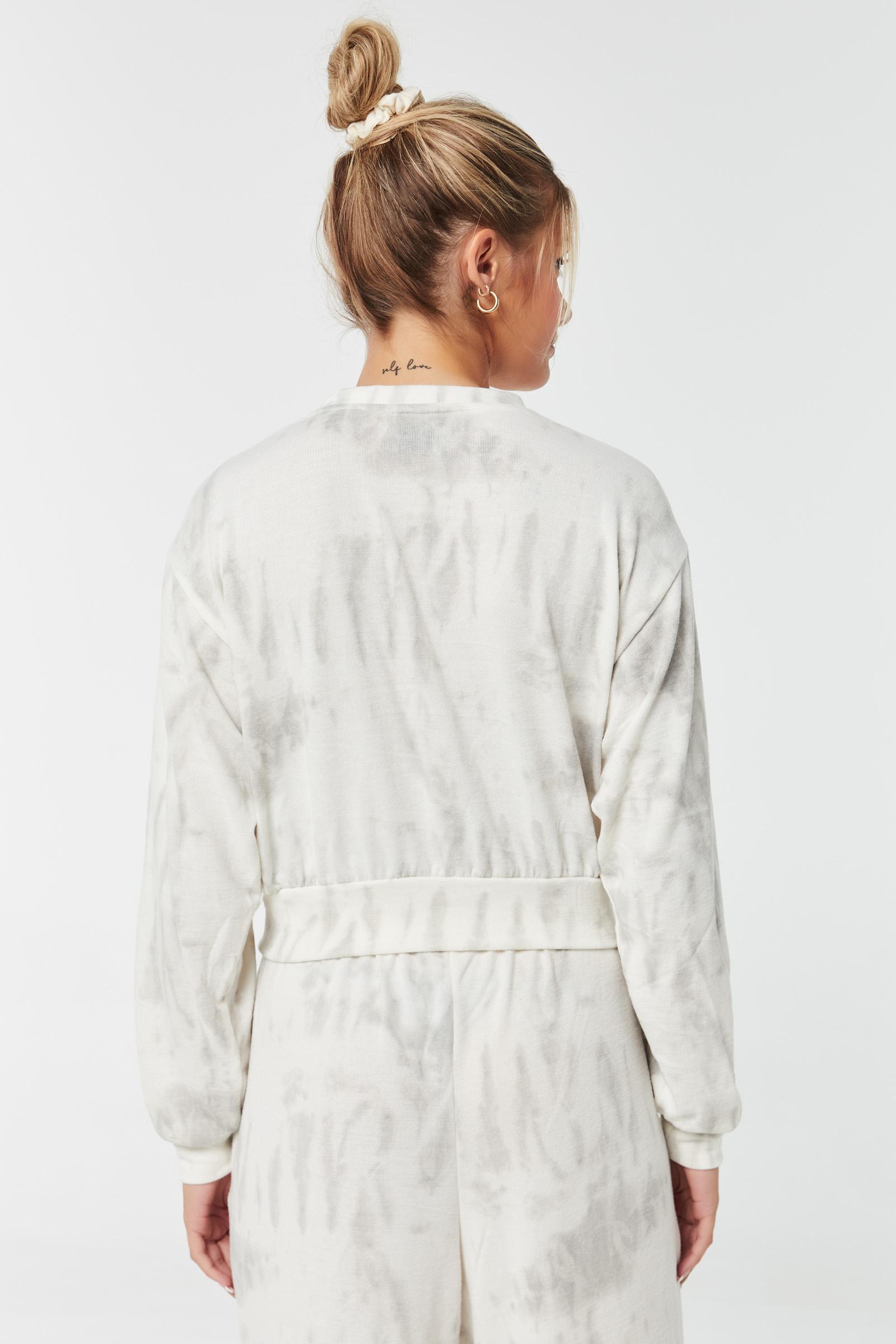 Tie-Dye Brushed Sweatshirt