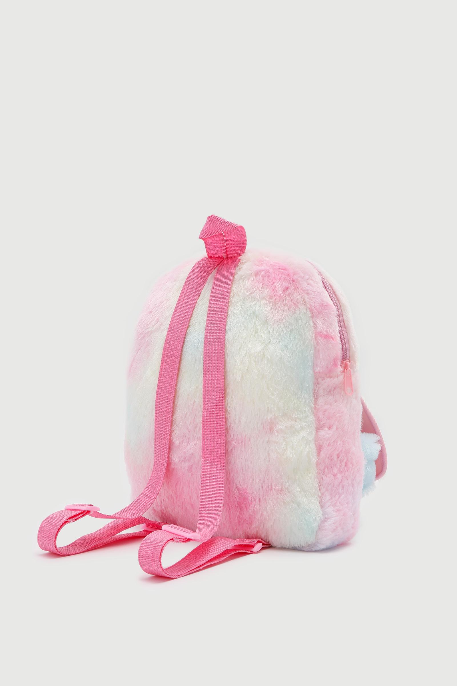 Sac à dos licorne en peluche pour filles