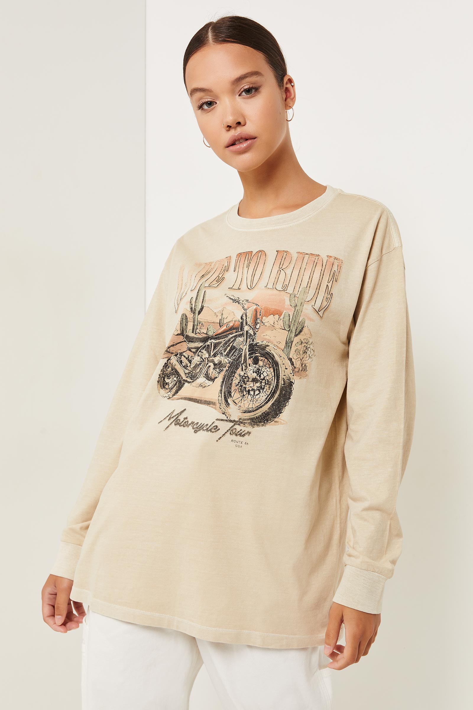 Washed Cotton Tee