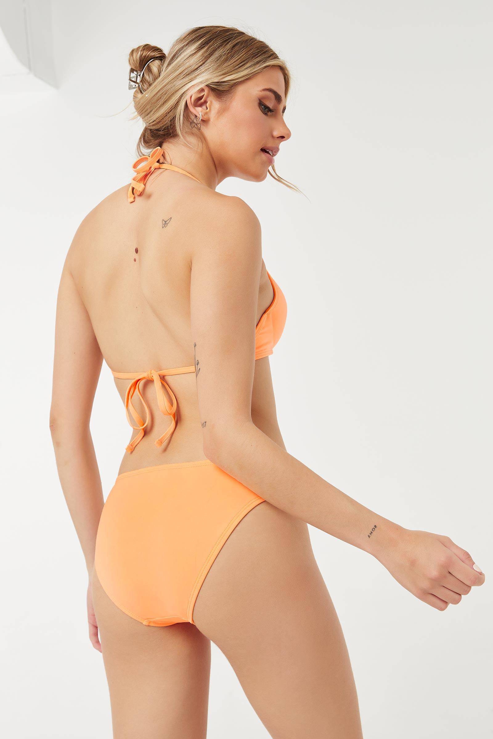 Push-Up Knotted Bikini Top