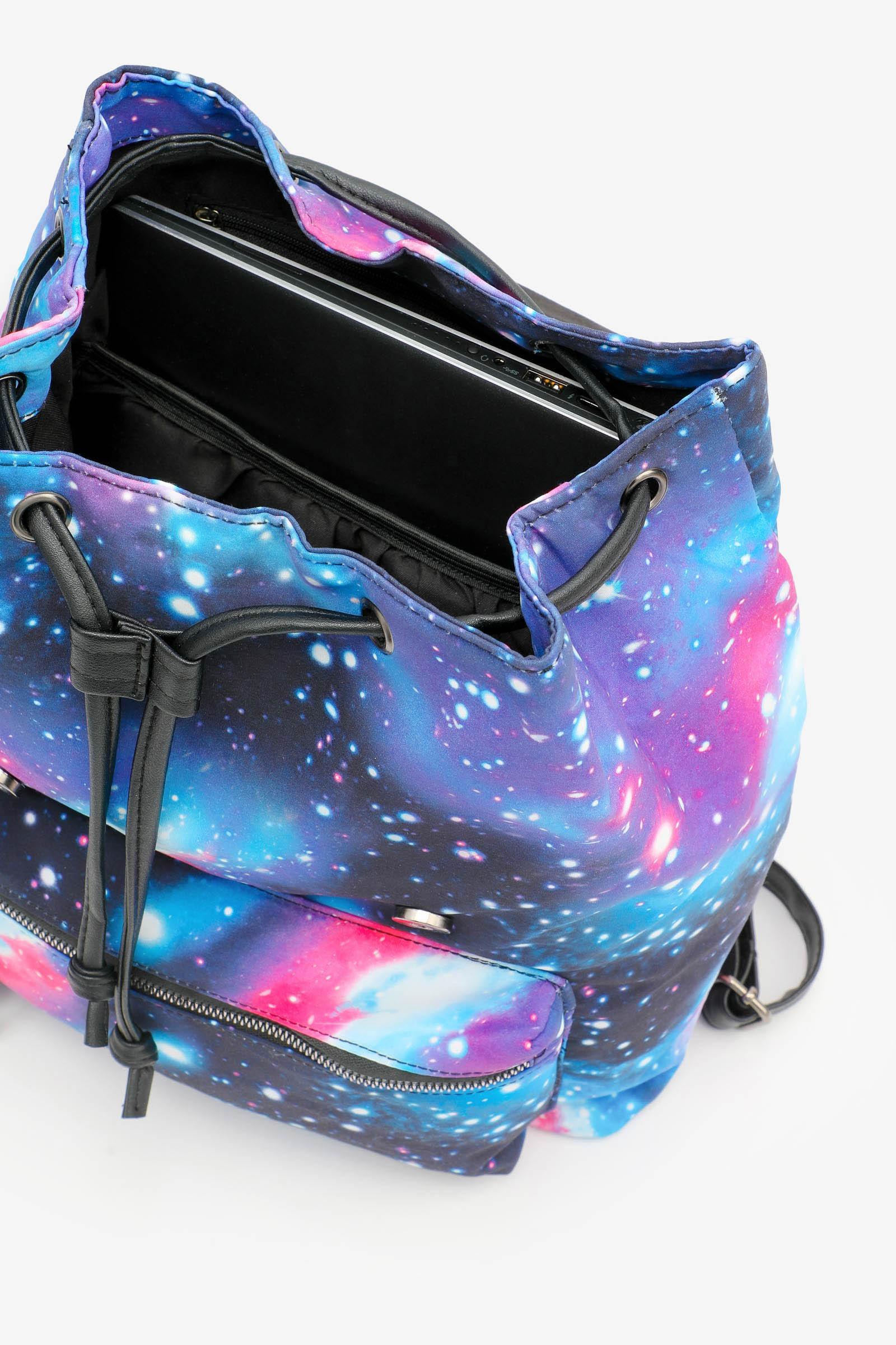 Galaxy Flap Backpack