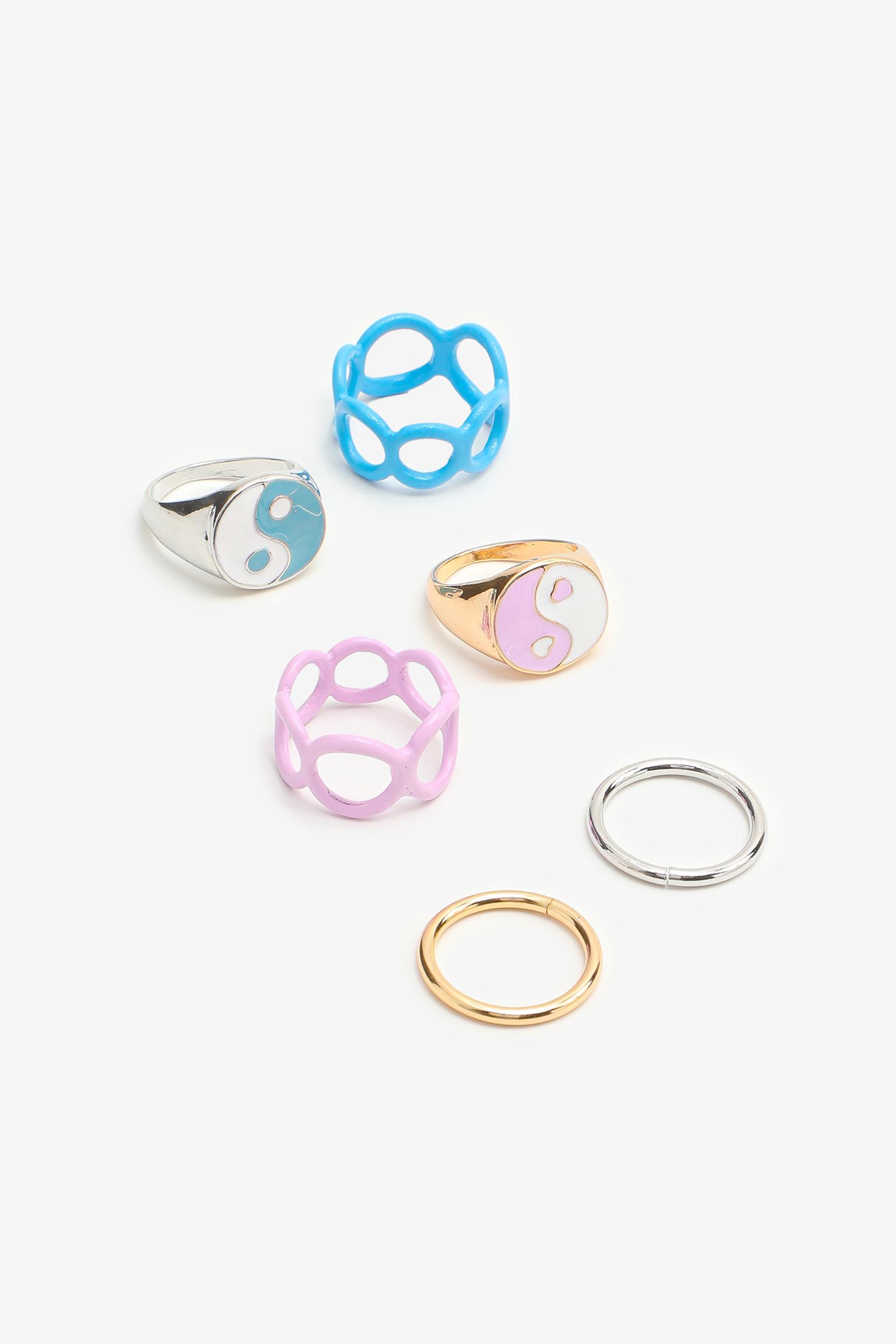 Yin & Yang Rings