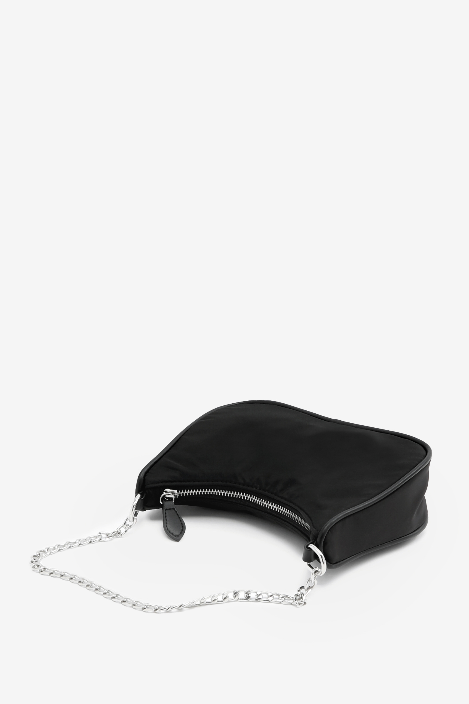 Baguette Bag with Chain Strap