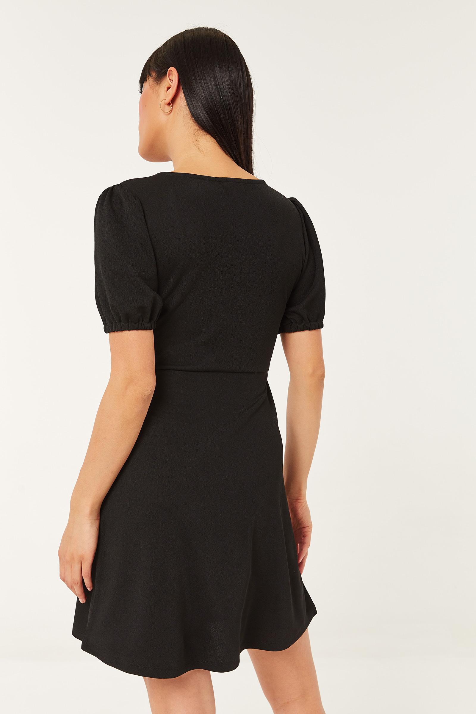 Mini Crepe Dress