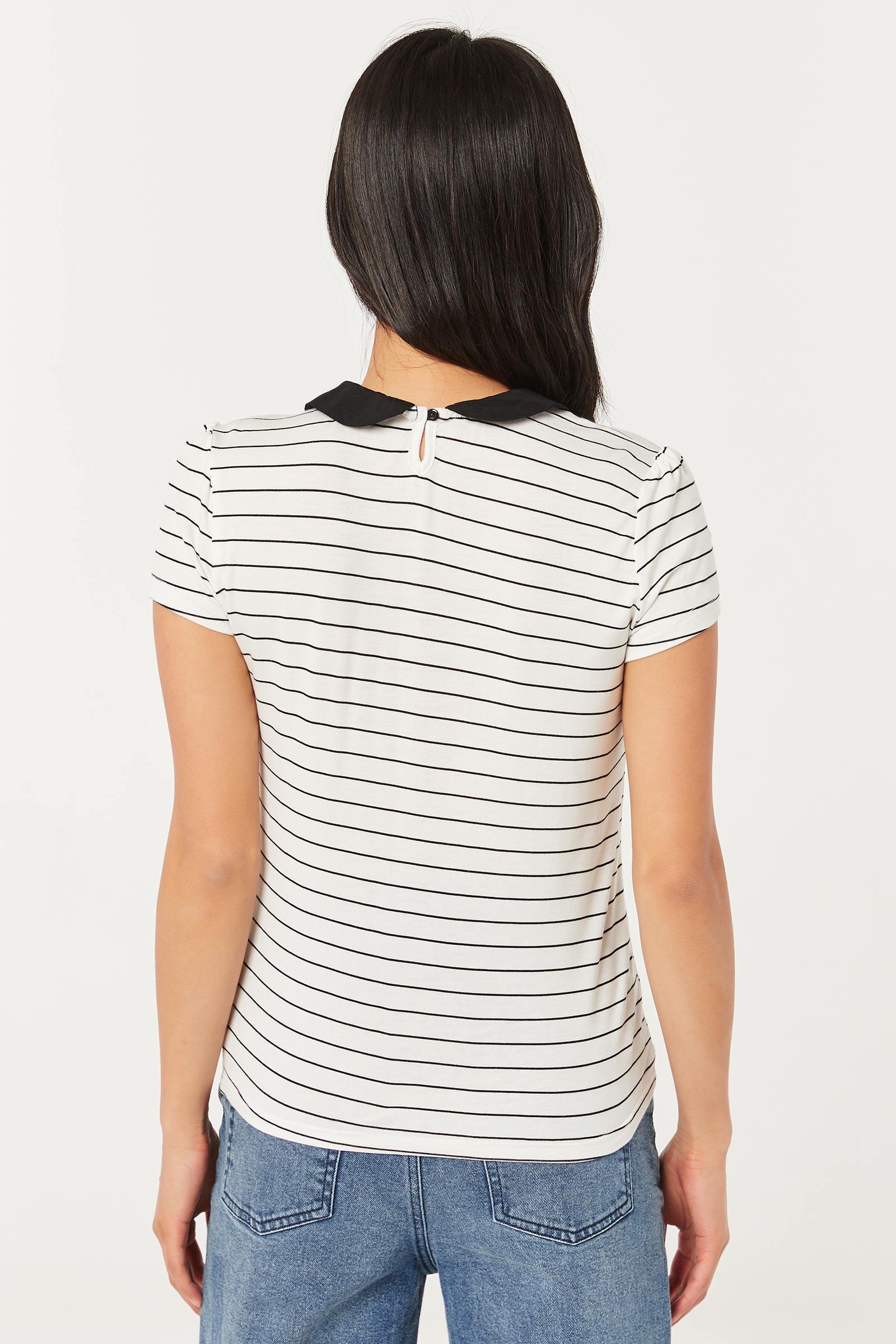 Striped Peter Pan T-shirt