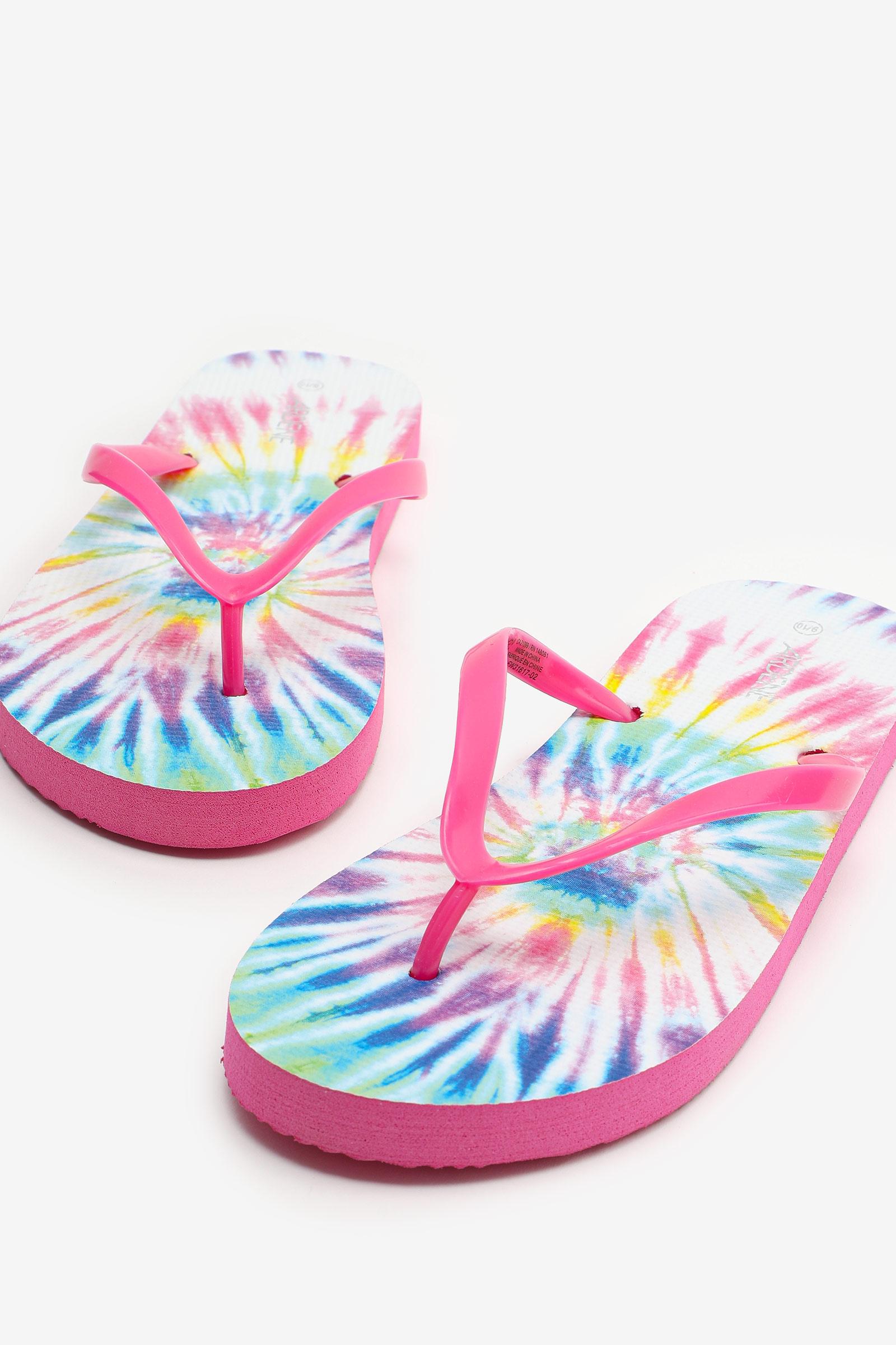 Tie-Dye Flip-Flops
