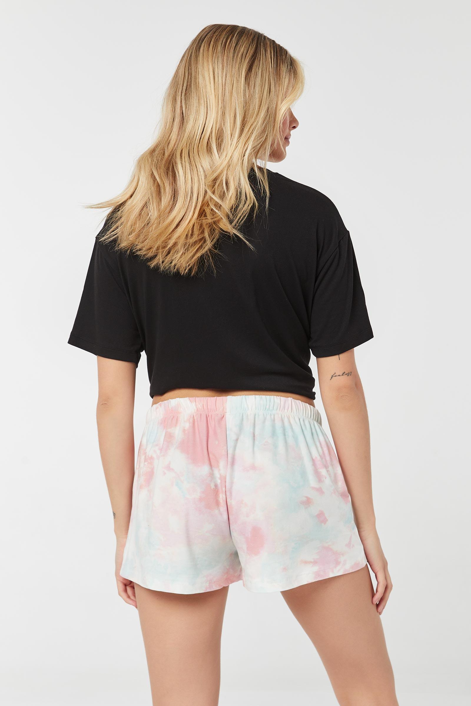Tie-Dye PJ Shorts