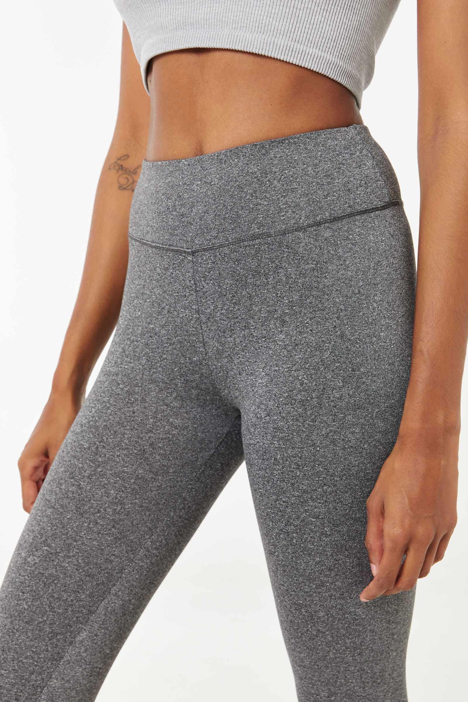 Leggings with Back Crisscrossed Detail