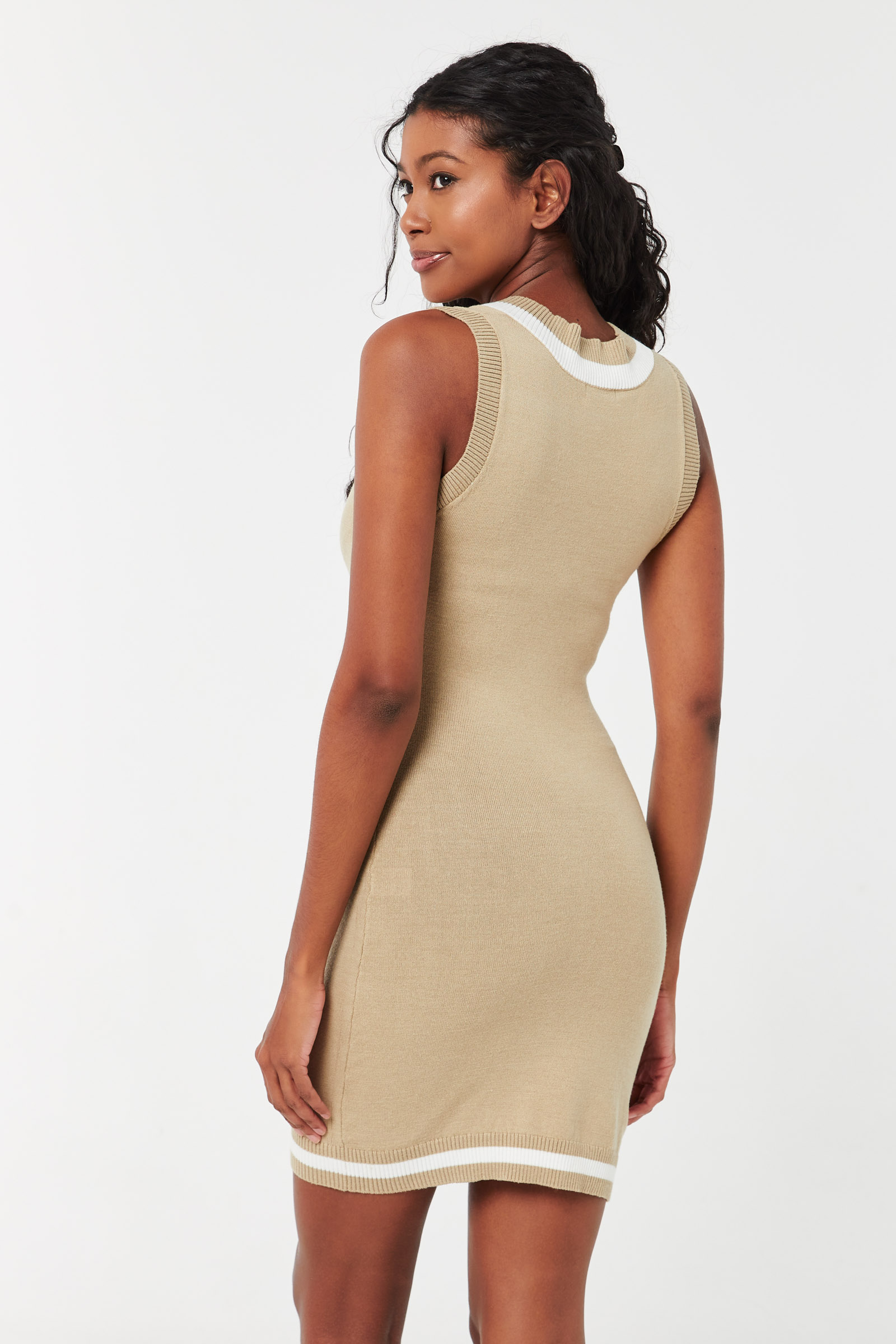 Sweater-Vest Dress