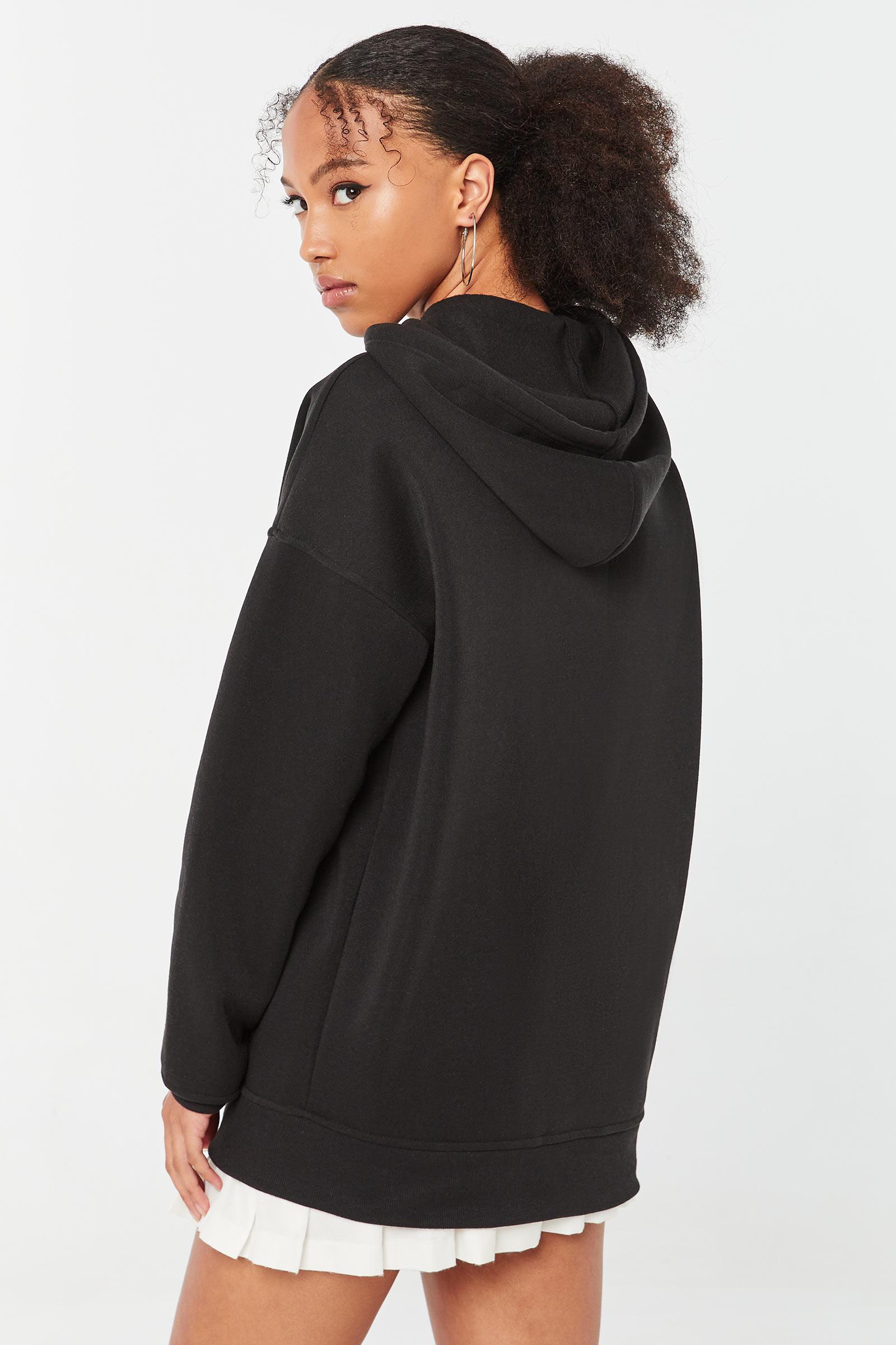 Angel Oversized Zip-Up Hoodie