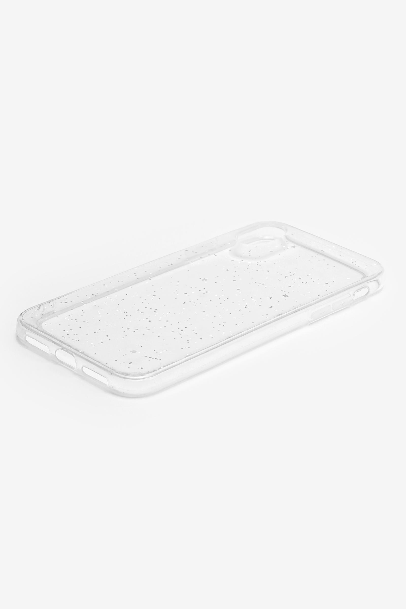 Étui d'iPhone XR transparent à brillant