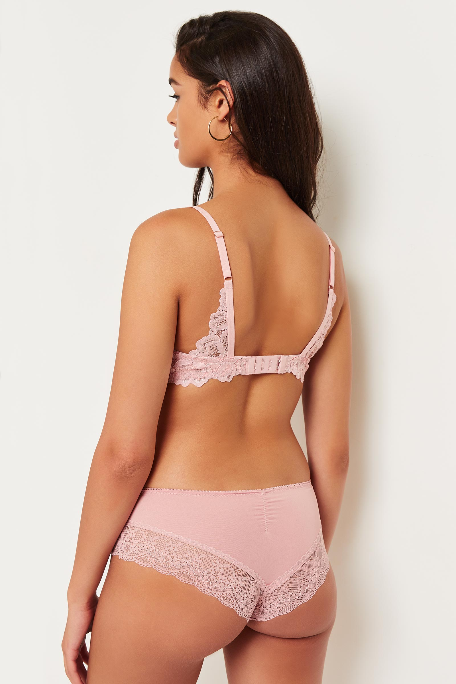 Cheeky Panty with Lace Trims