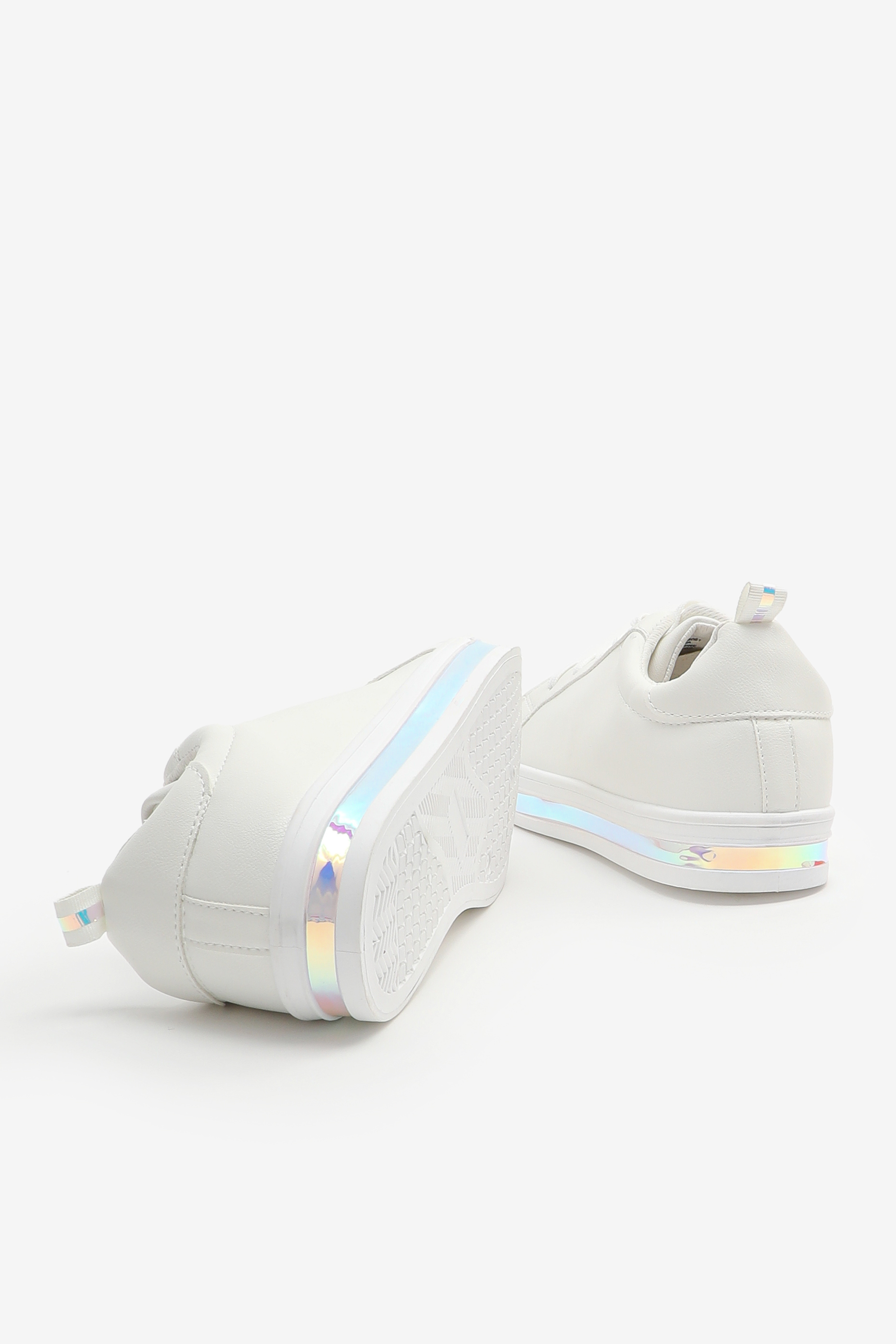 Iridescent Midsole Sneakers