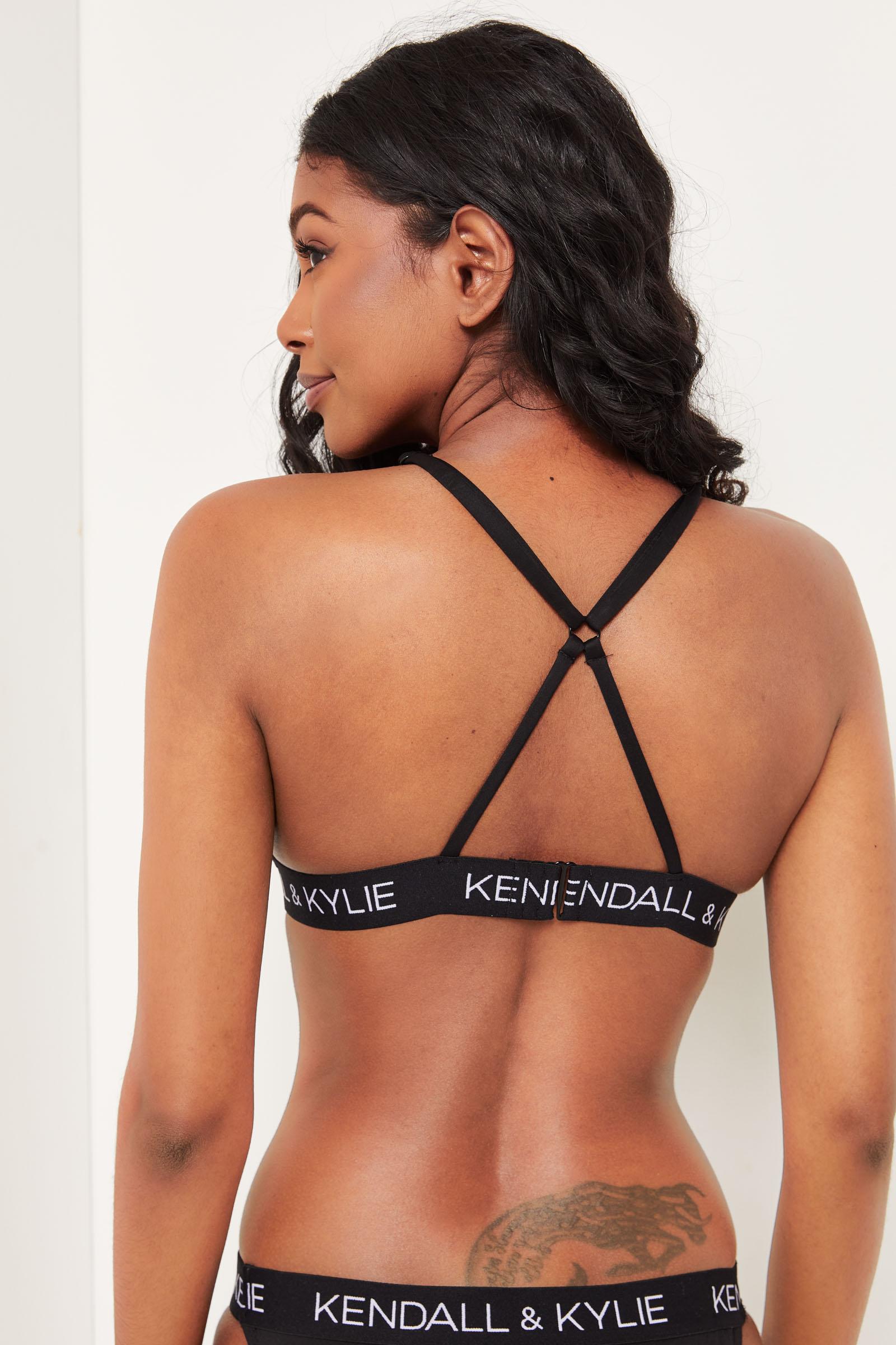 Kendall & Kylie haut de bikini triangle