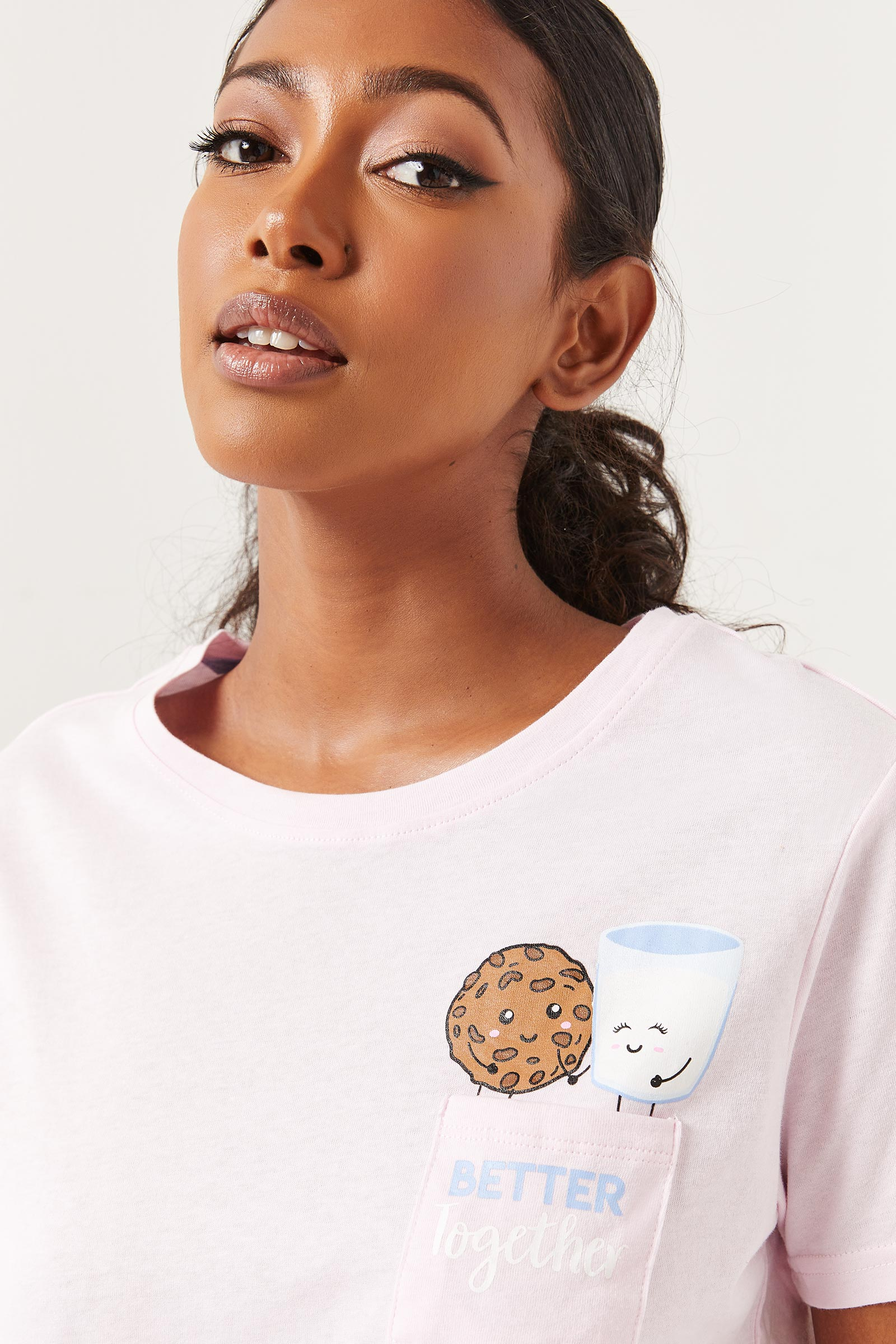 Milk and Cookies PJ Set
