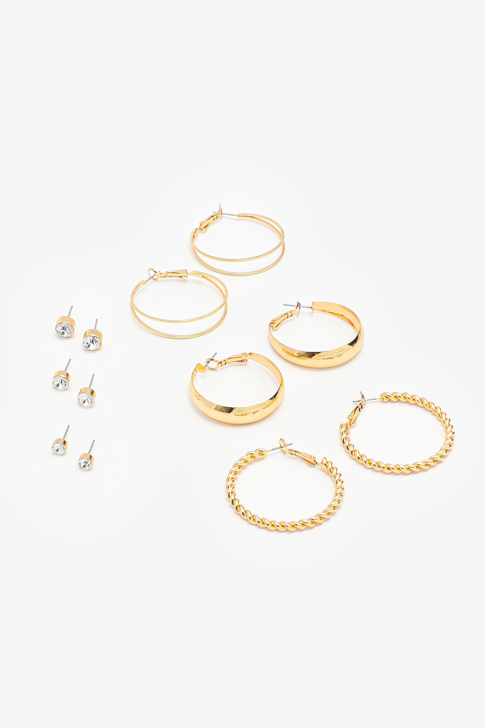 Pack of Assorted Hoops and Studs