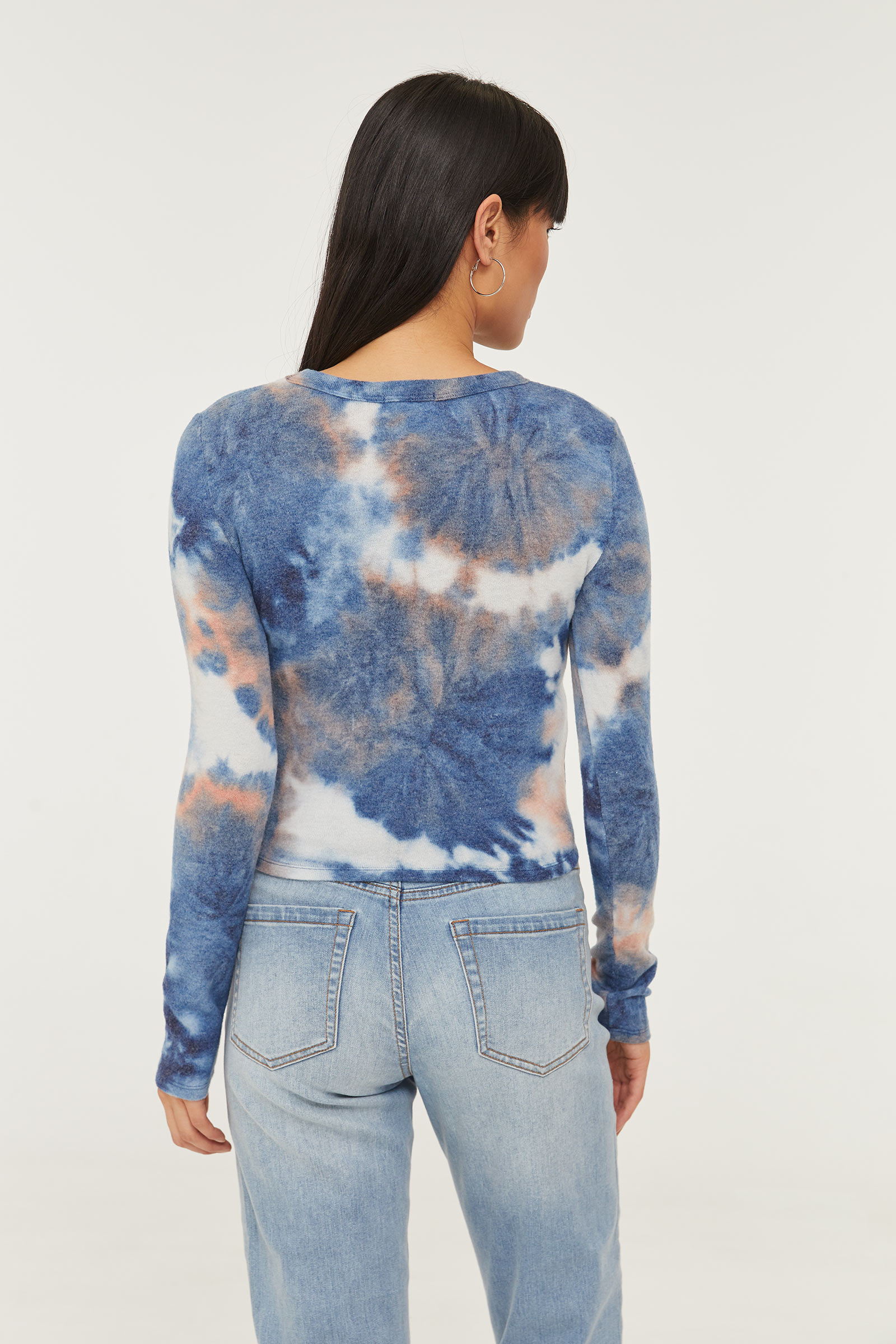 Light Tie-dye Sweater