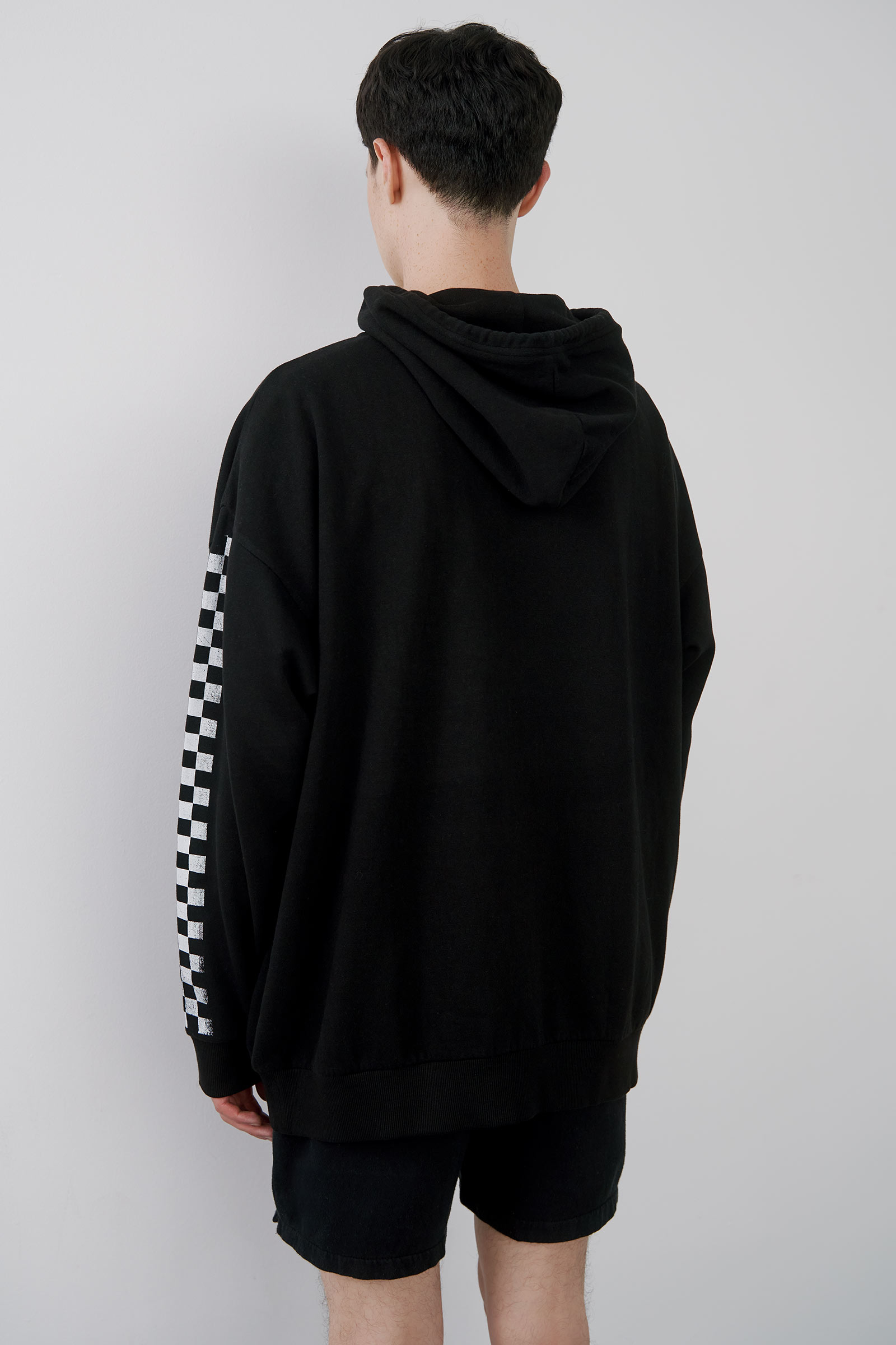 Checkered Hoodie for Men