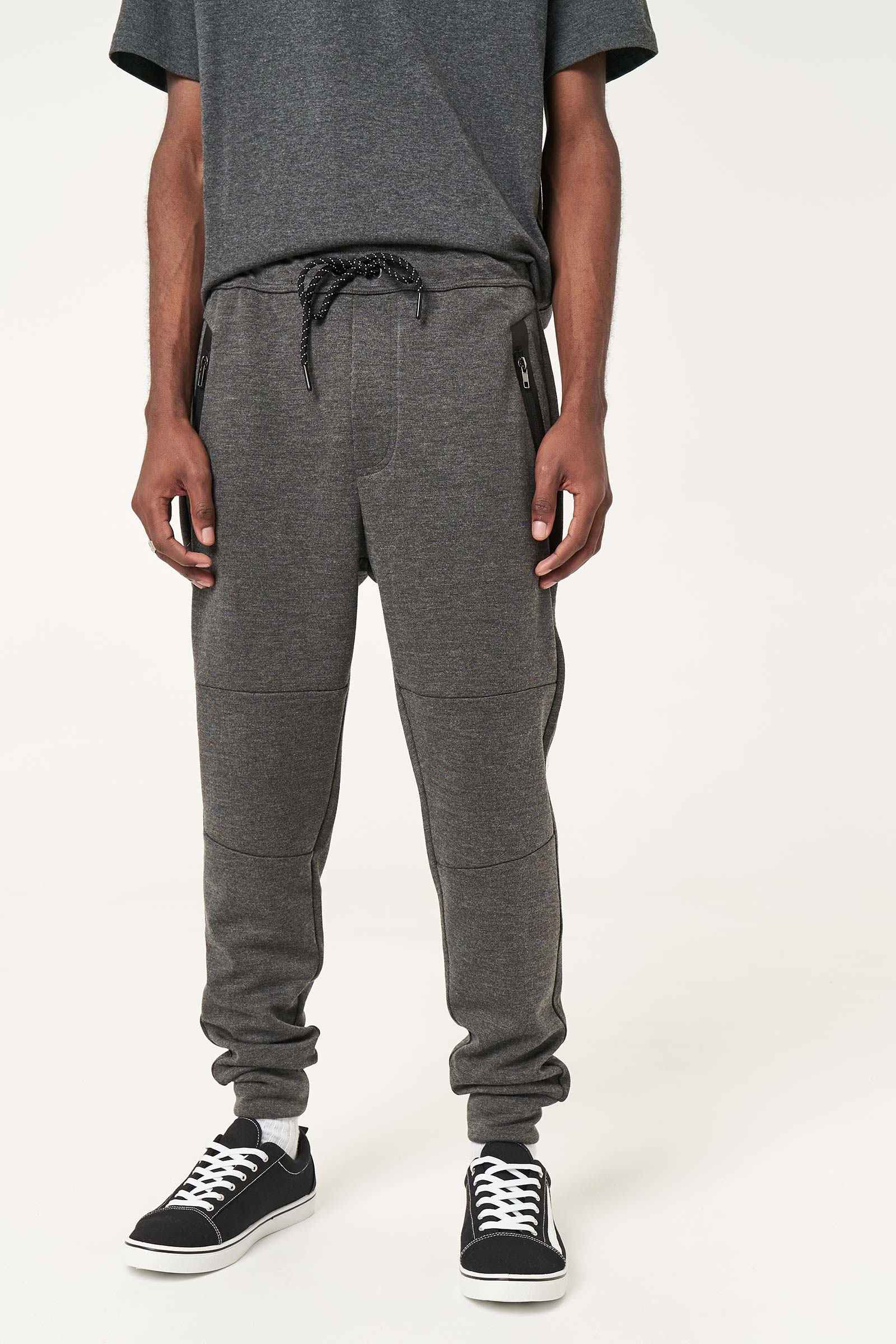 Zipped Joggers for Men