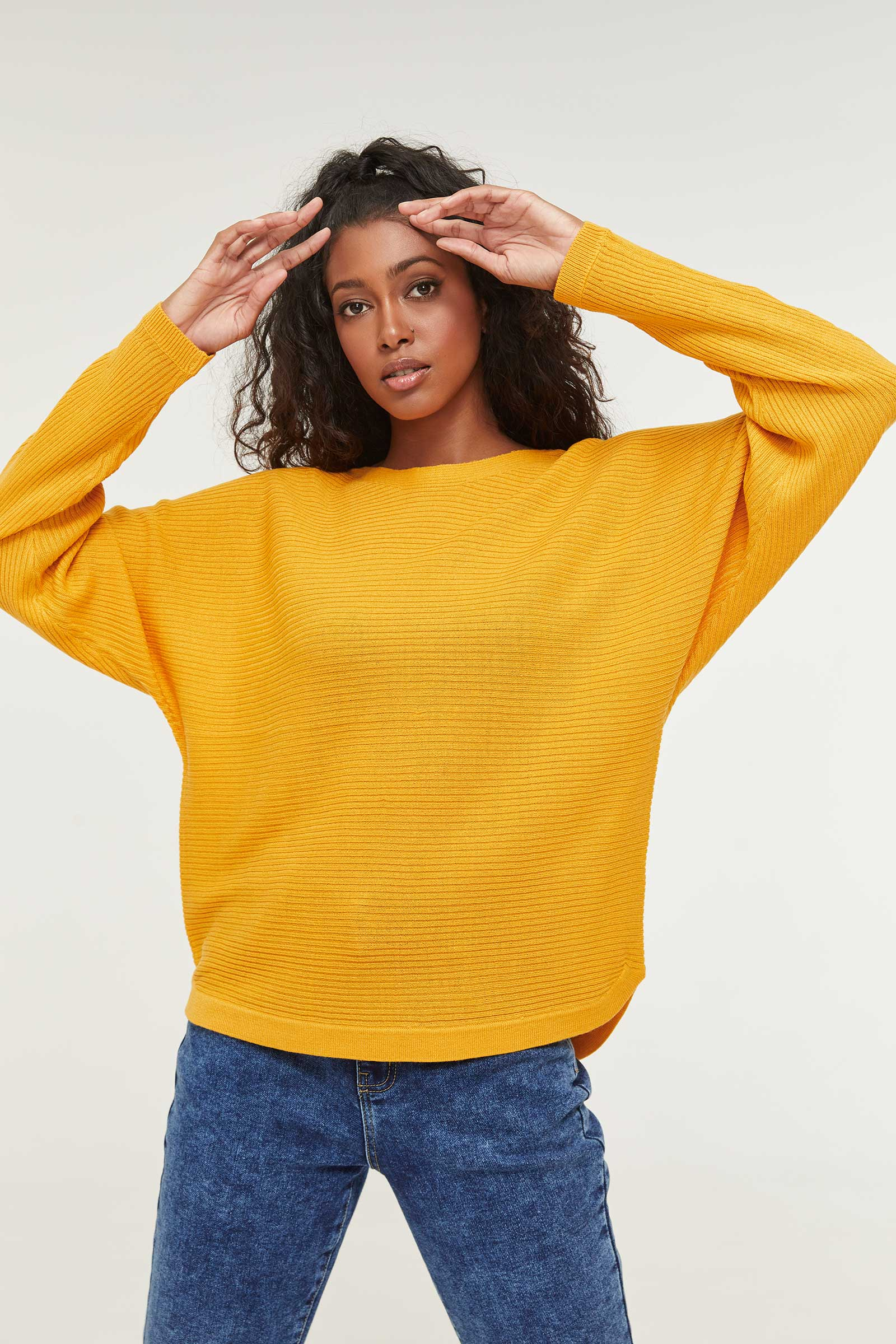 Soft Ribbed Sweater