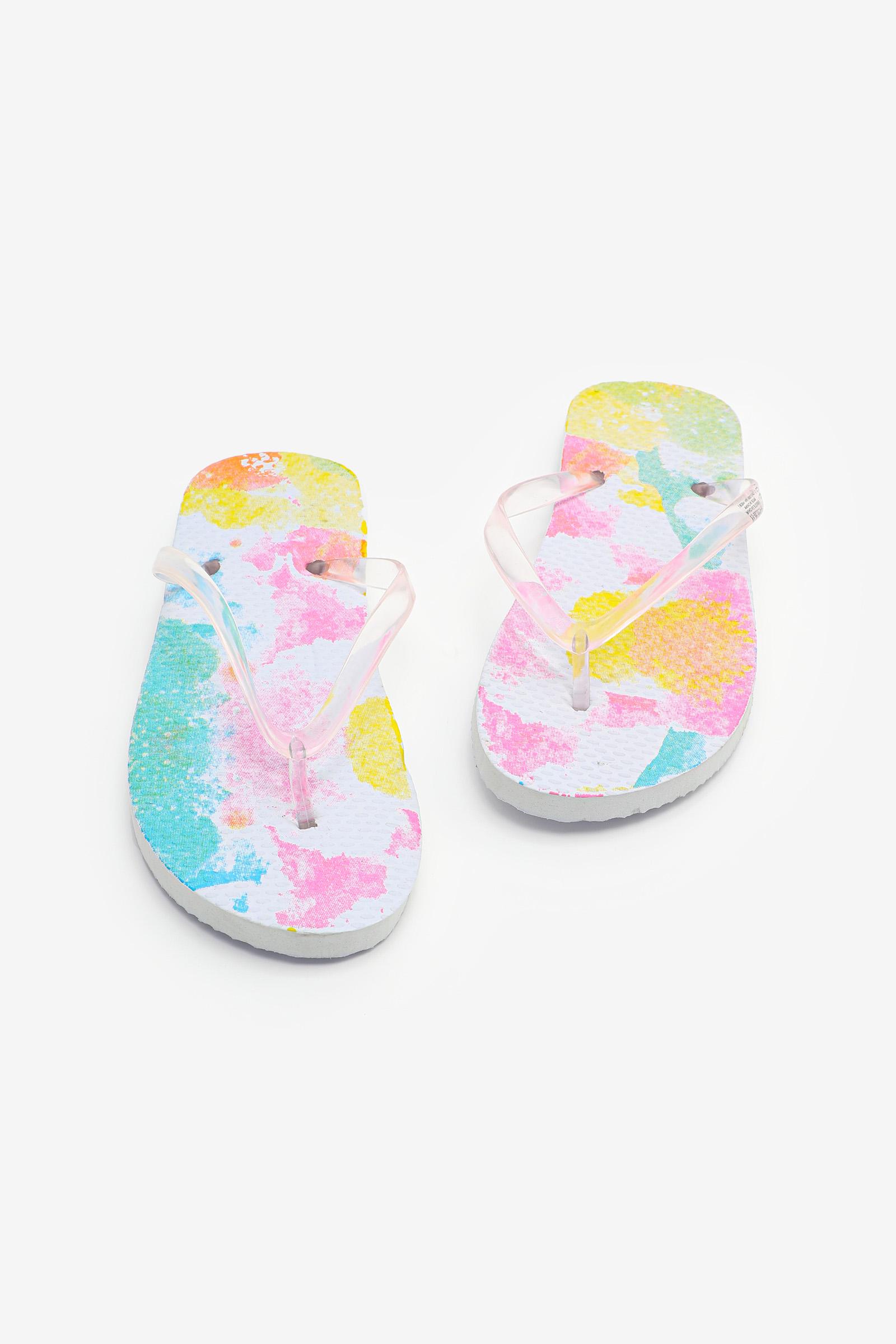 Flip-flops tie-dye pour enfants