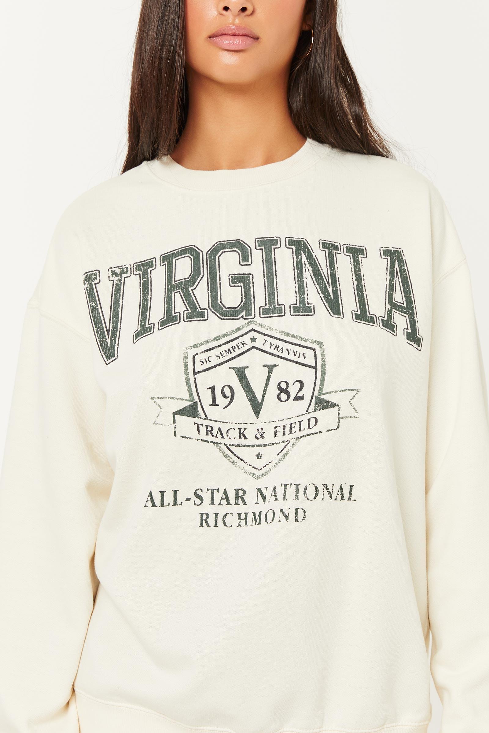 Virginia Crew-Neck Sweatshirt