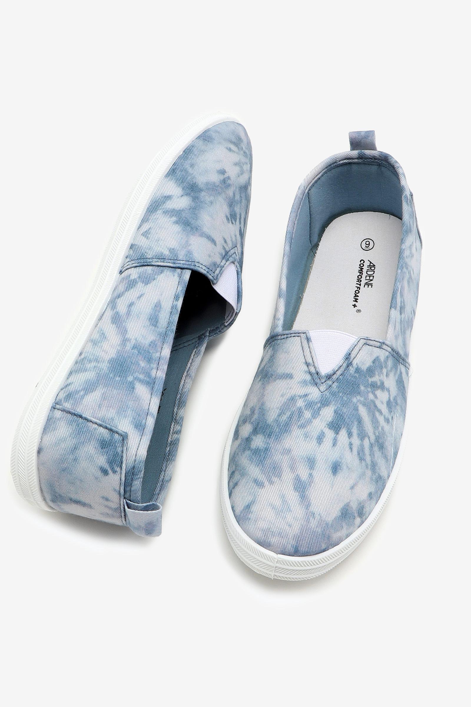 Basic Tie-Dye Slip-On Sneakers