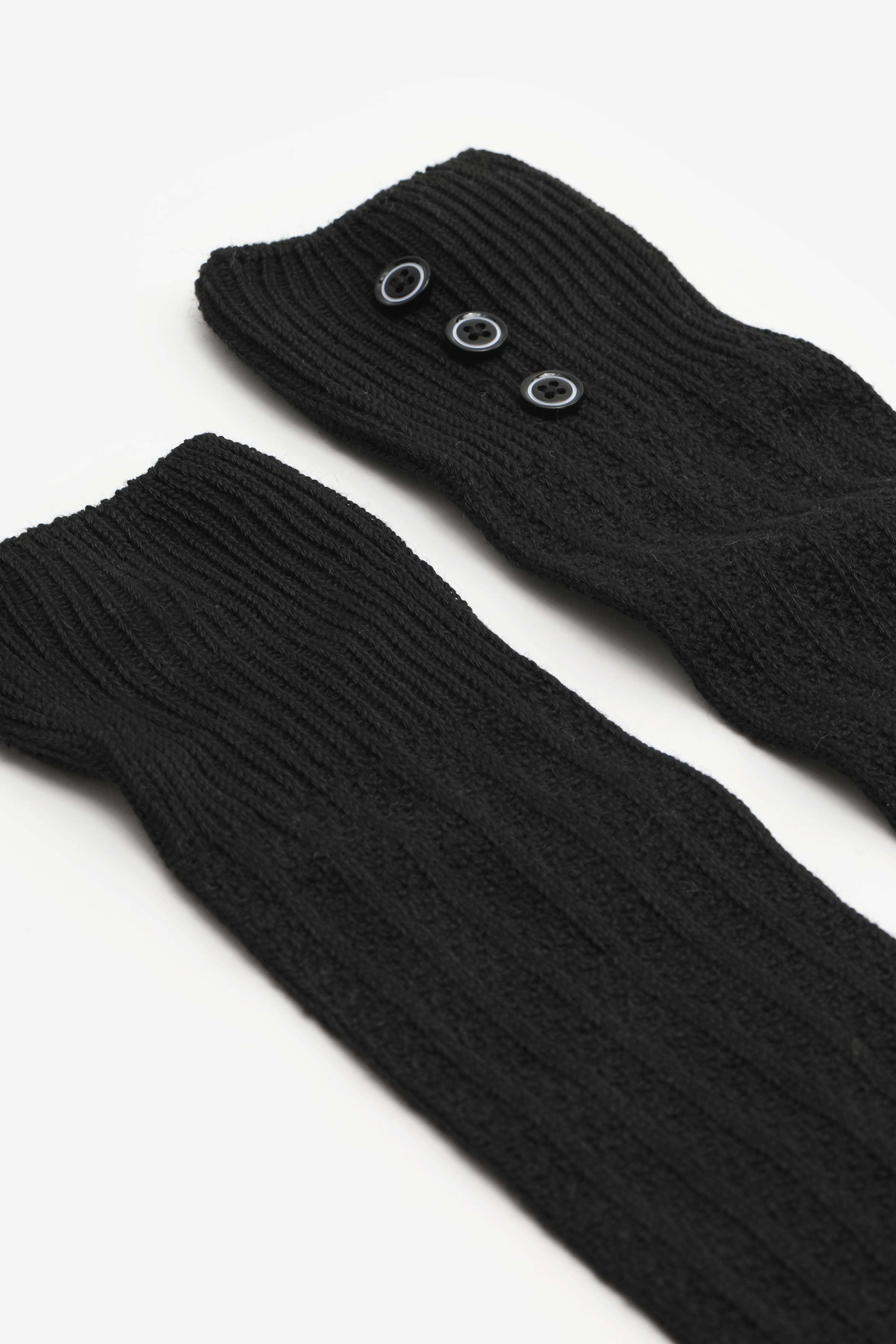 Over-The-Knee Socks with Buttons