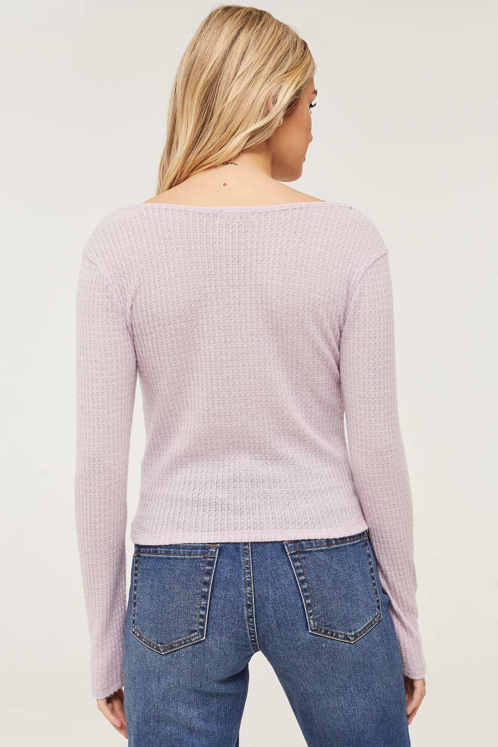 T-shirt tricoté gaufré