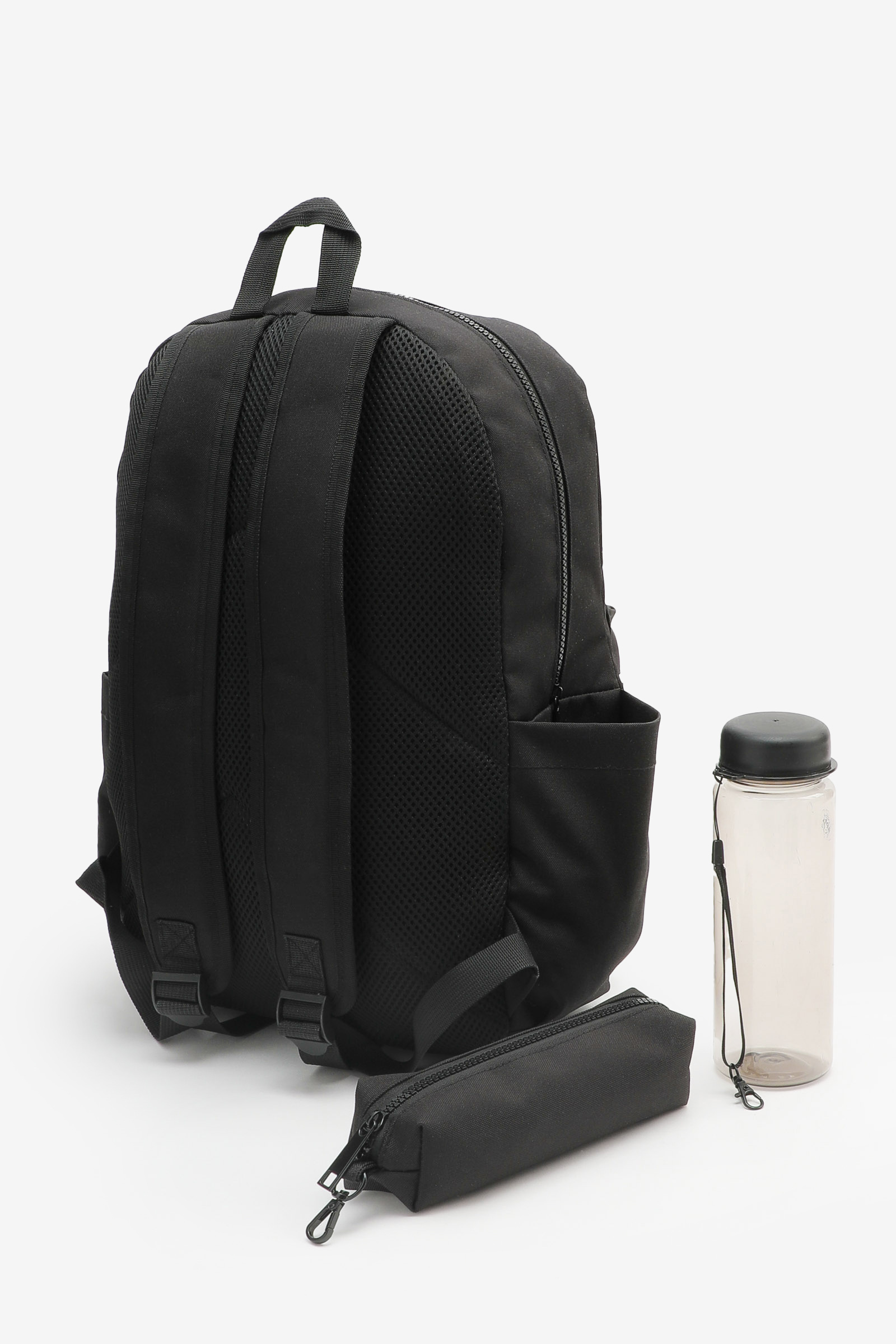 Canvas Backpack with Pencil Case