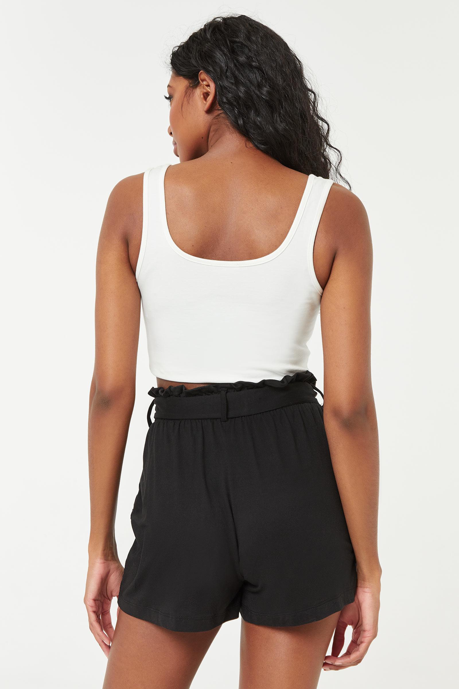 Short à ceinture