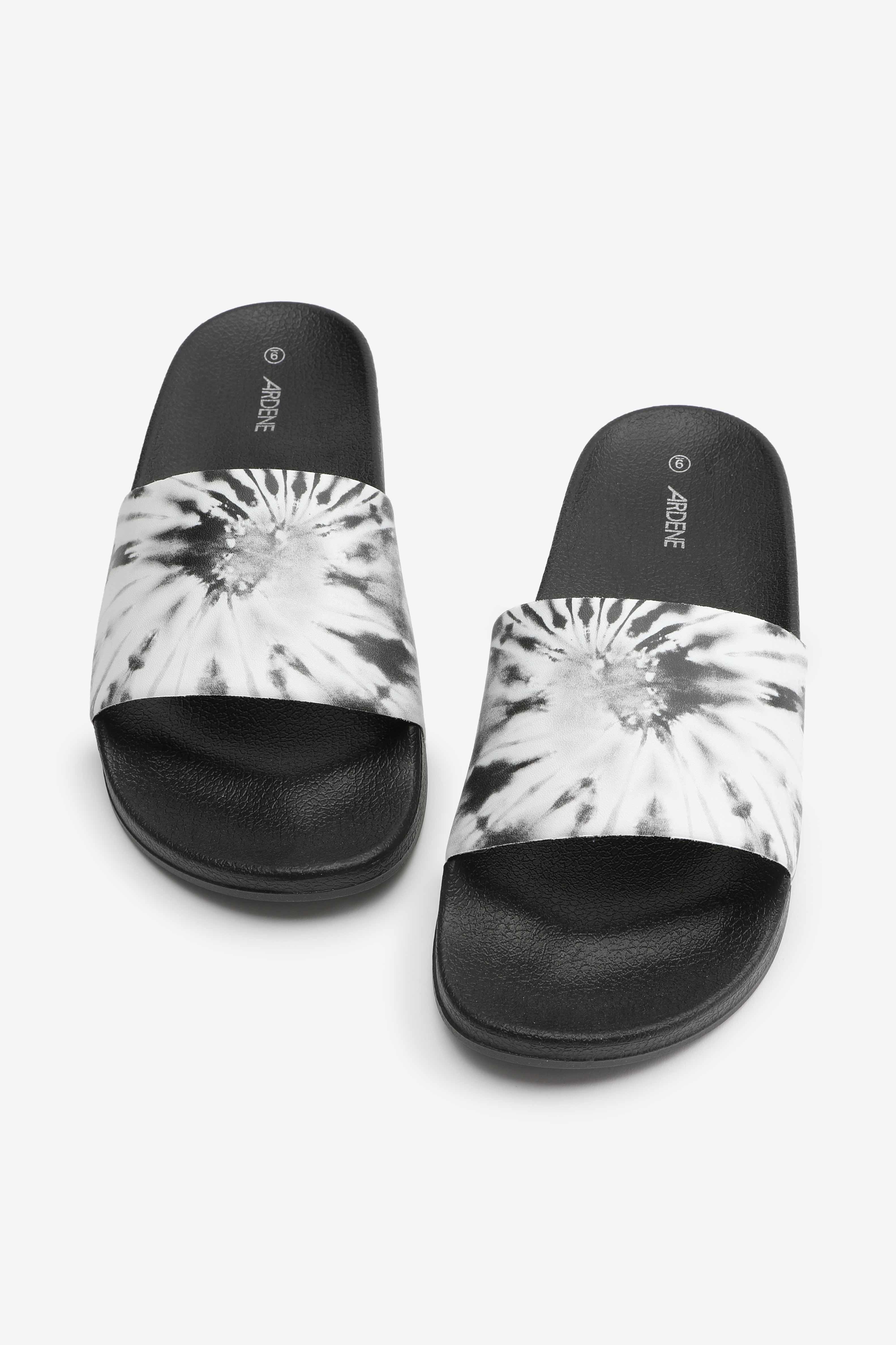 Tie-Dye Slide Sandals