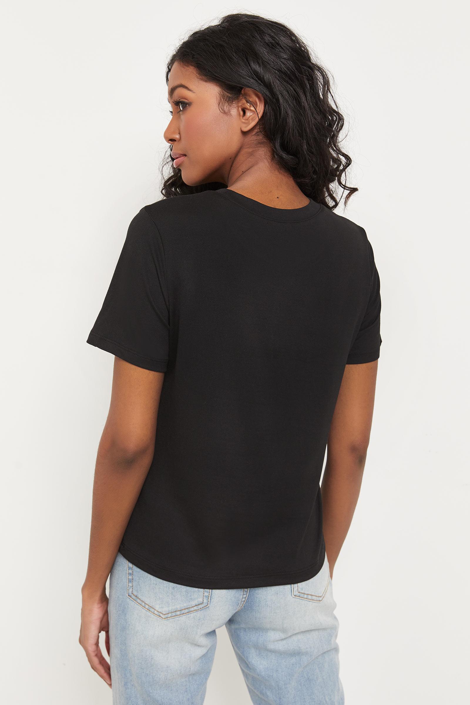 T-shirt à rose