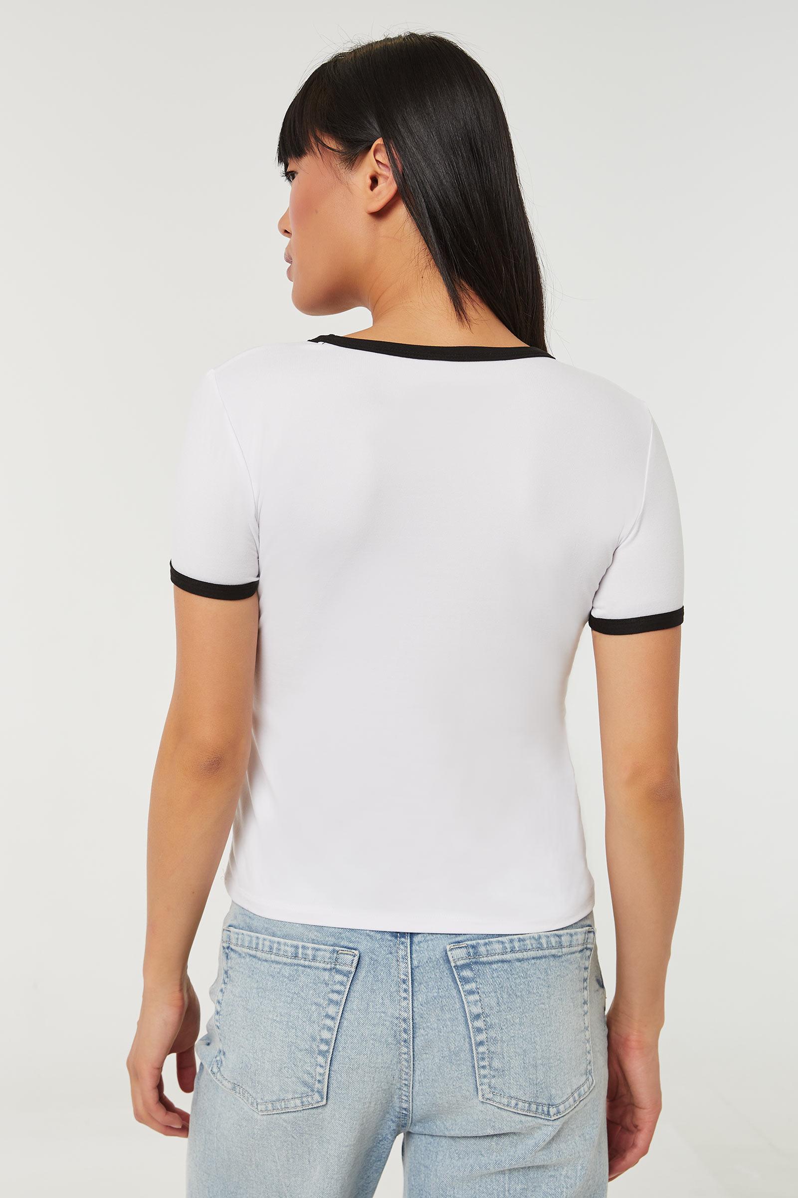 T-shirt ringer Les Supers Nanas
