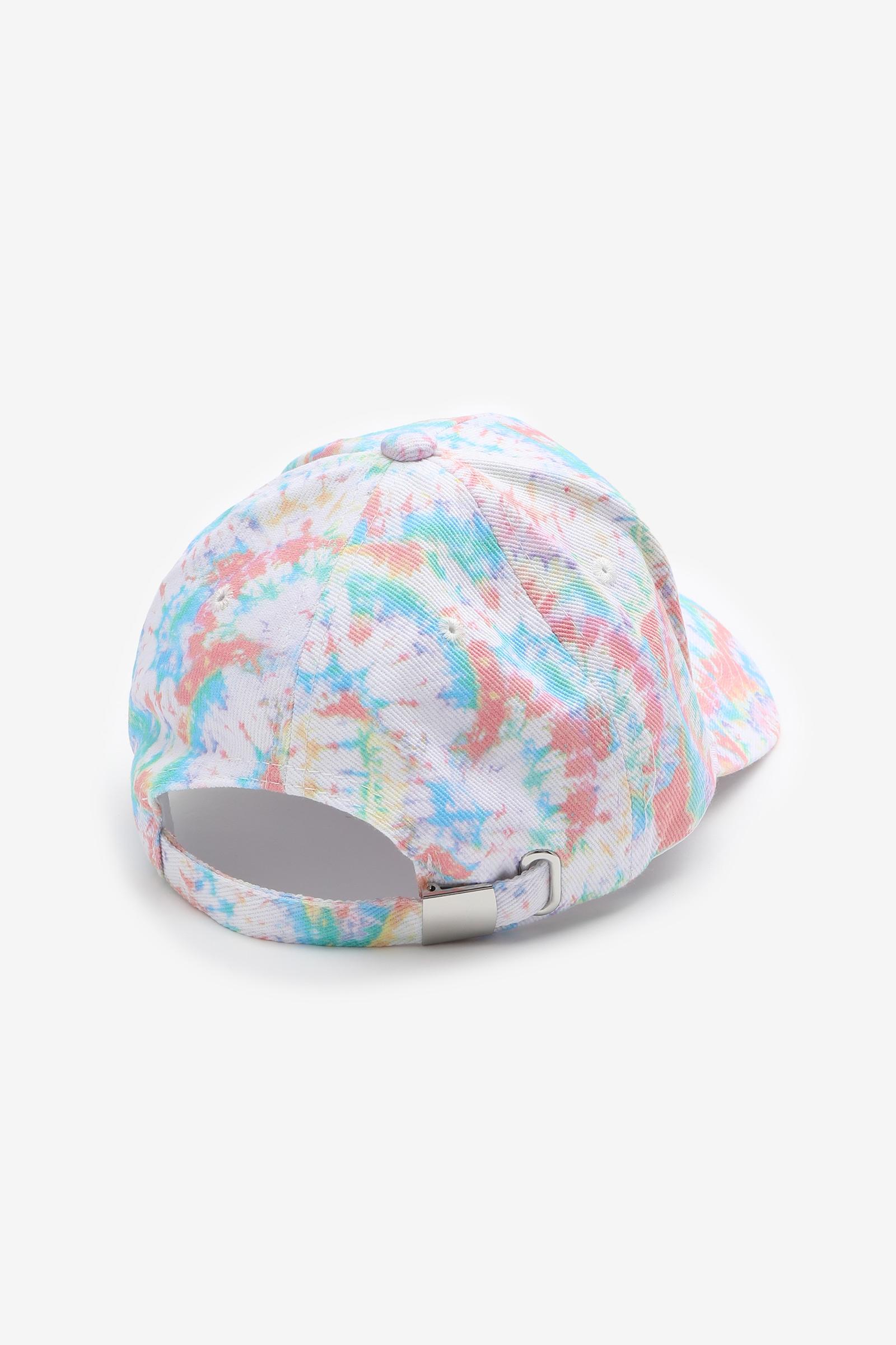 Casquette de baseball tie-dye