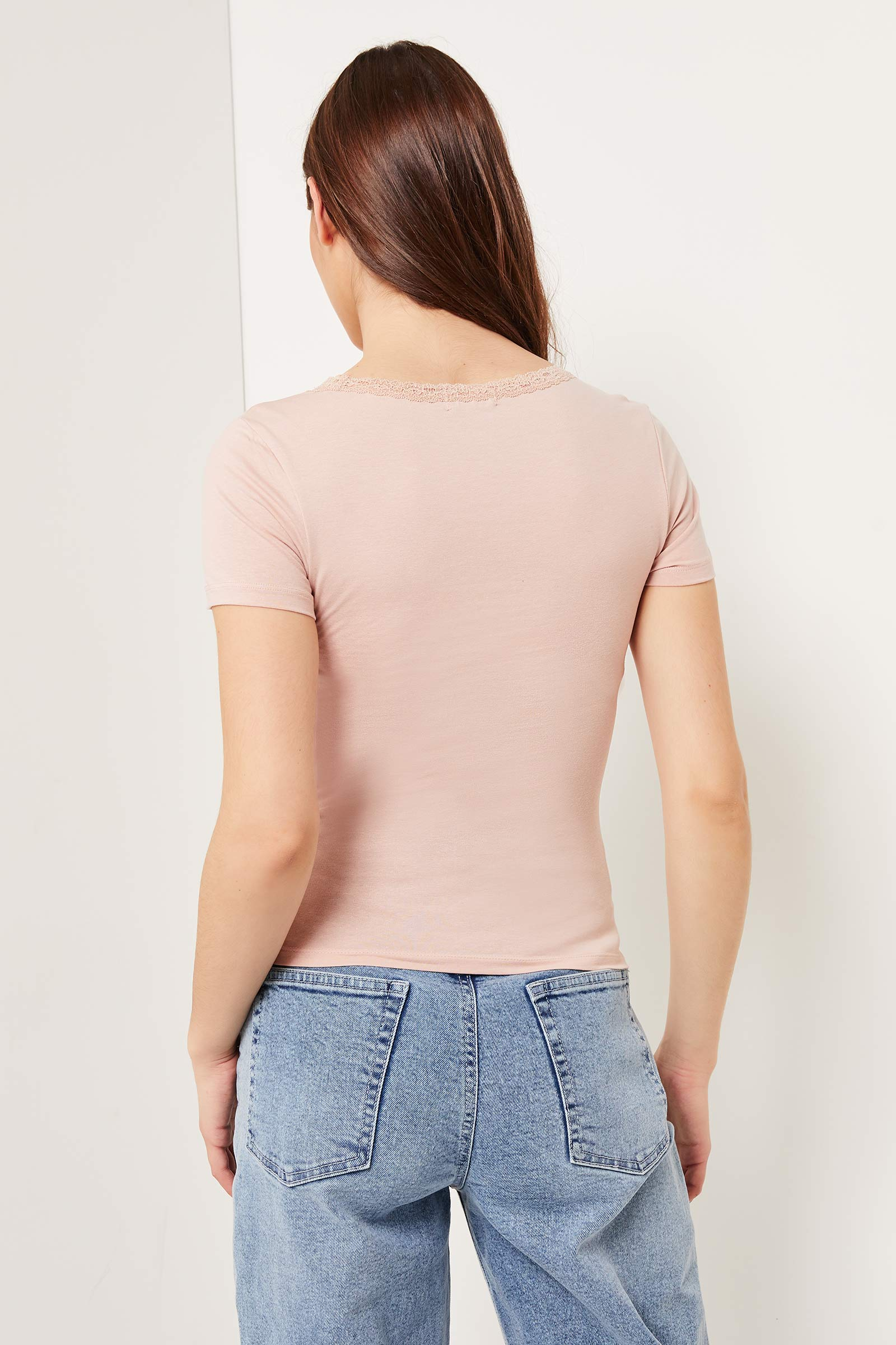 Basic Tee with Lace