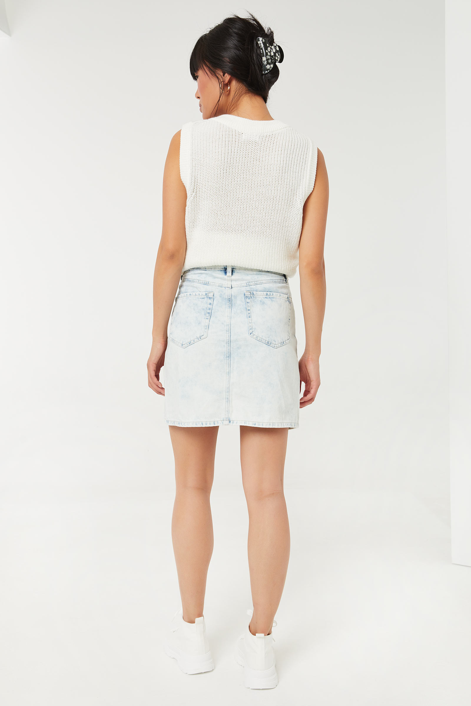 Classic Denim Mini Skirt