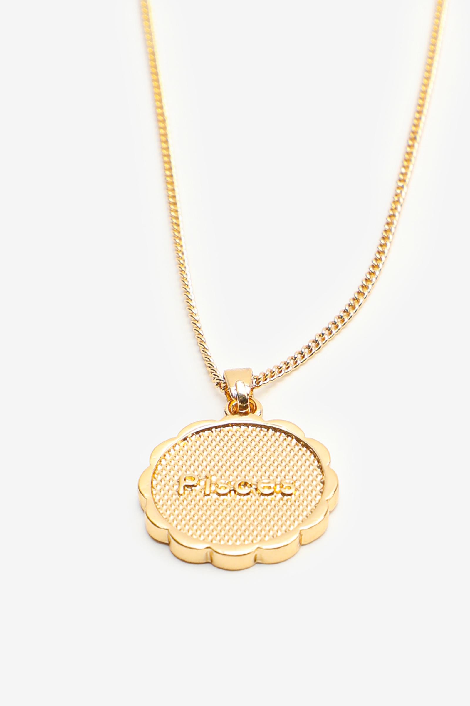 Zodiac Gemini Pendant Necklace