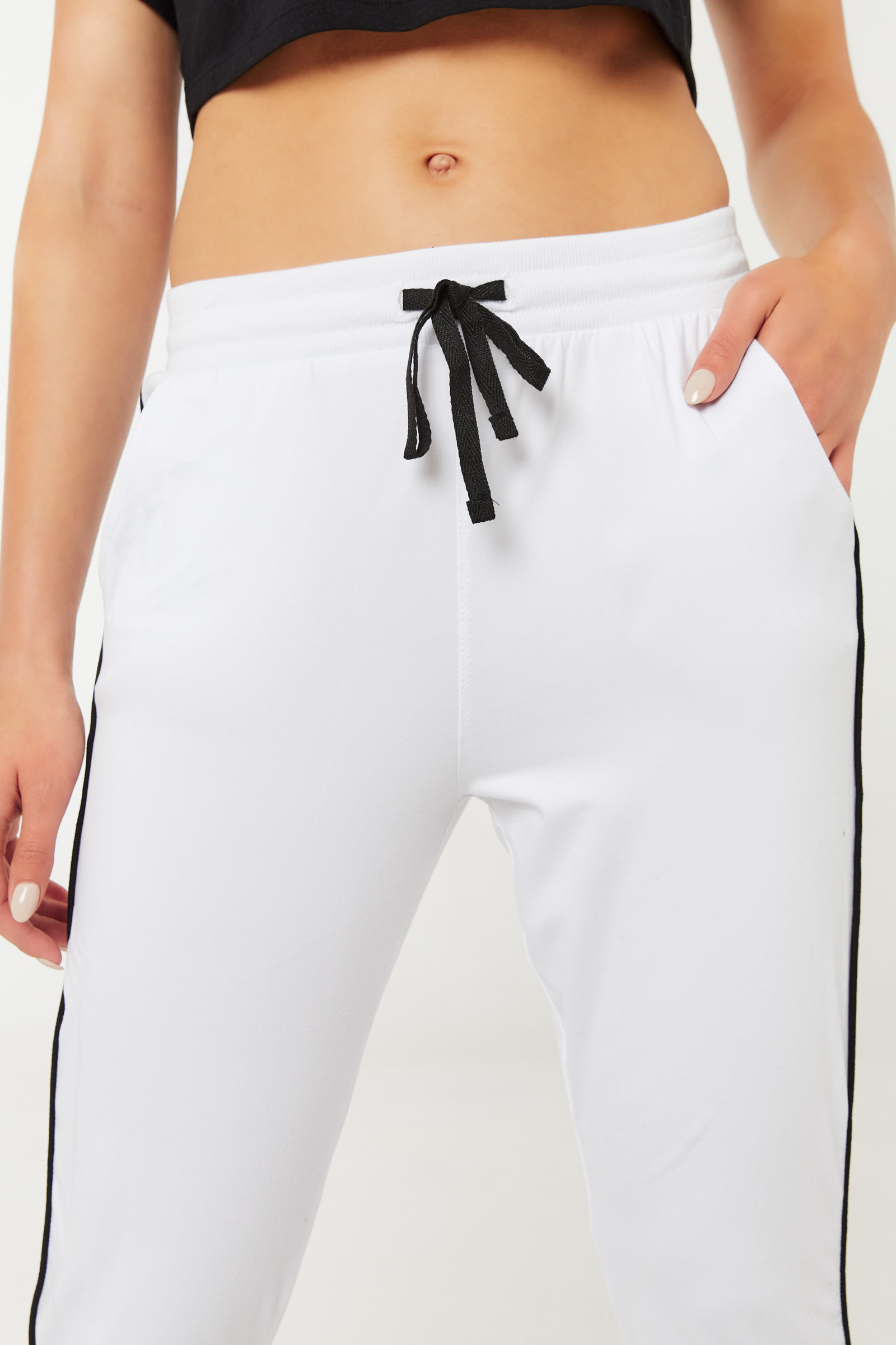 Super Soft Sweatpants with Side Piping