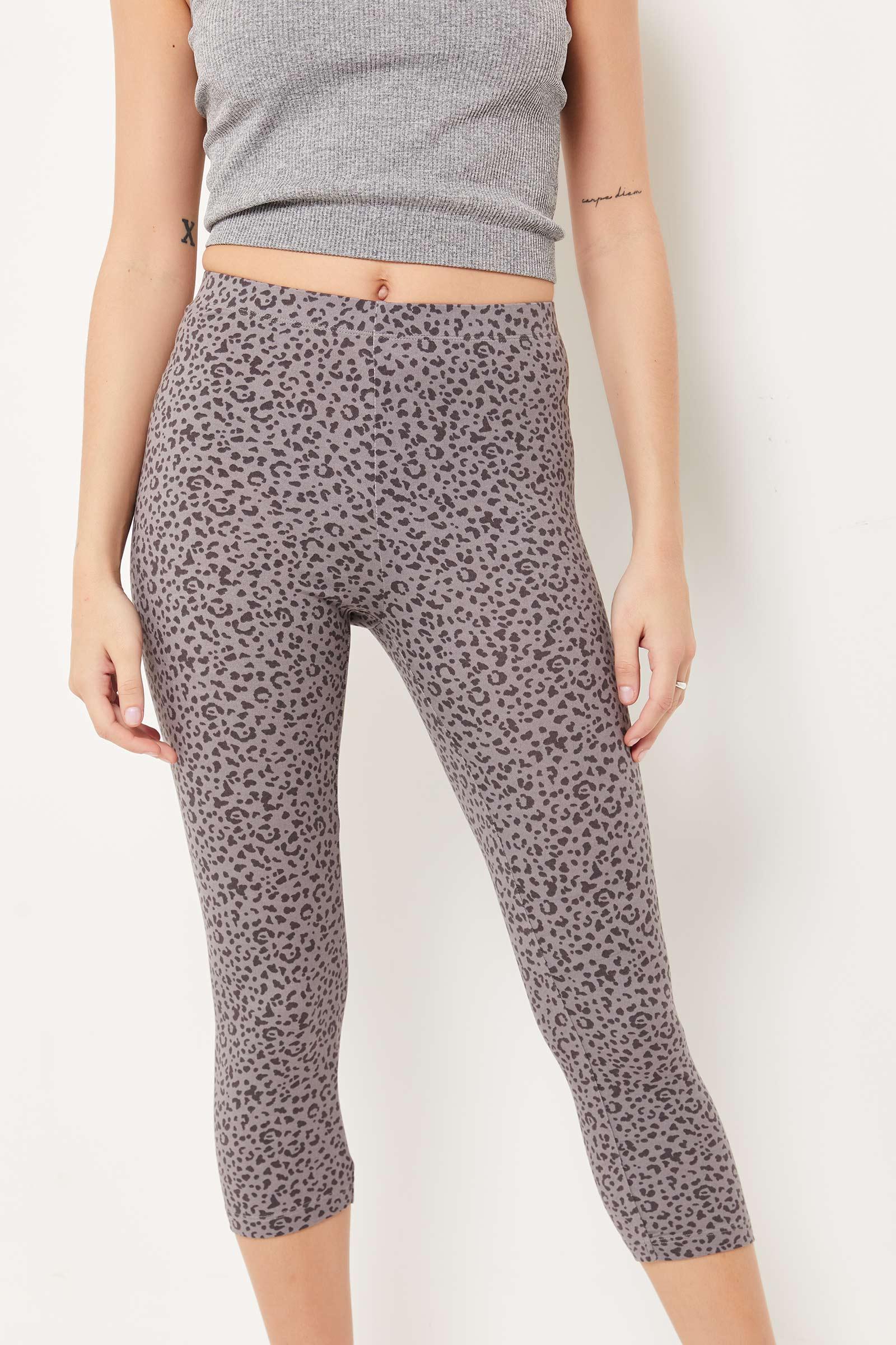 Leopard Crop Leggings
